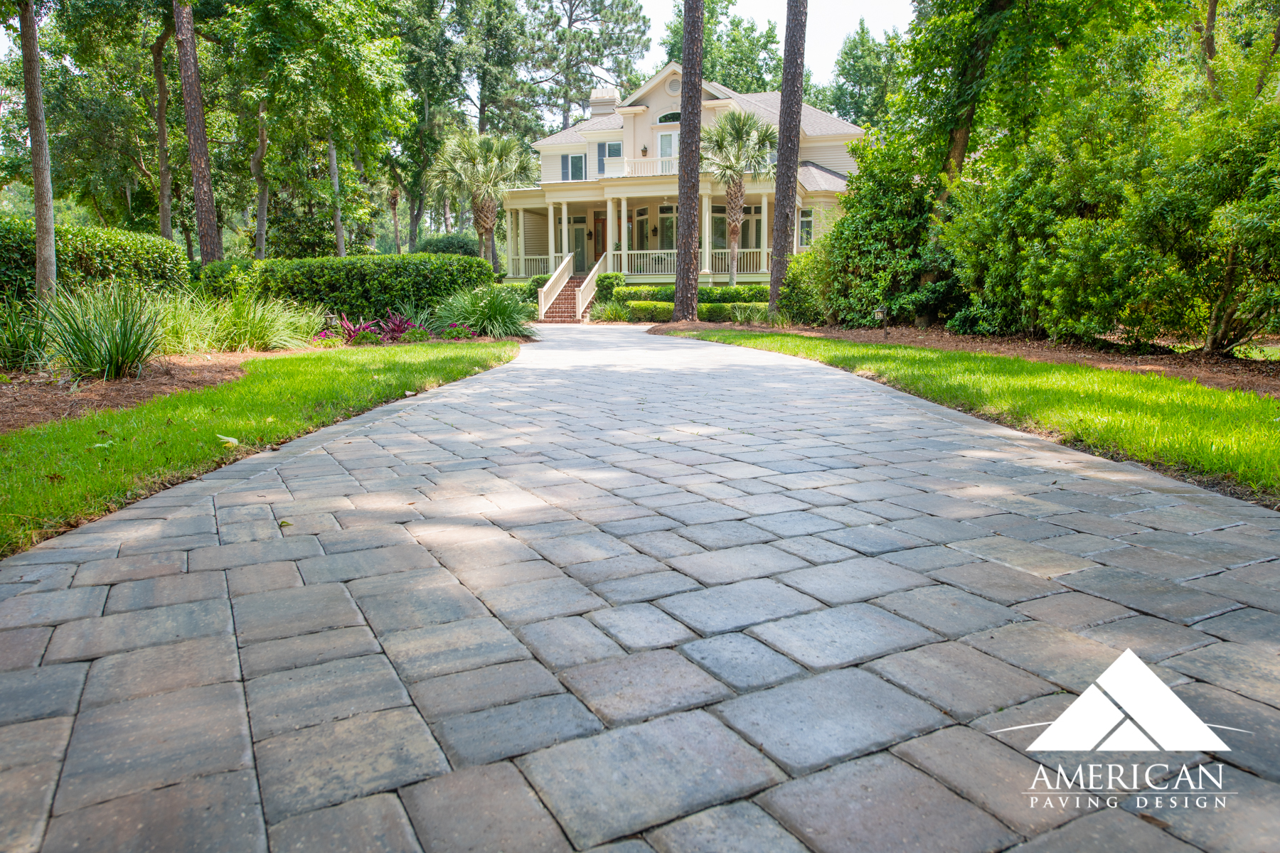 Paver Driveway Installation