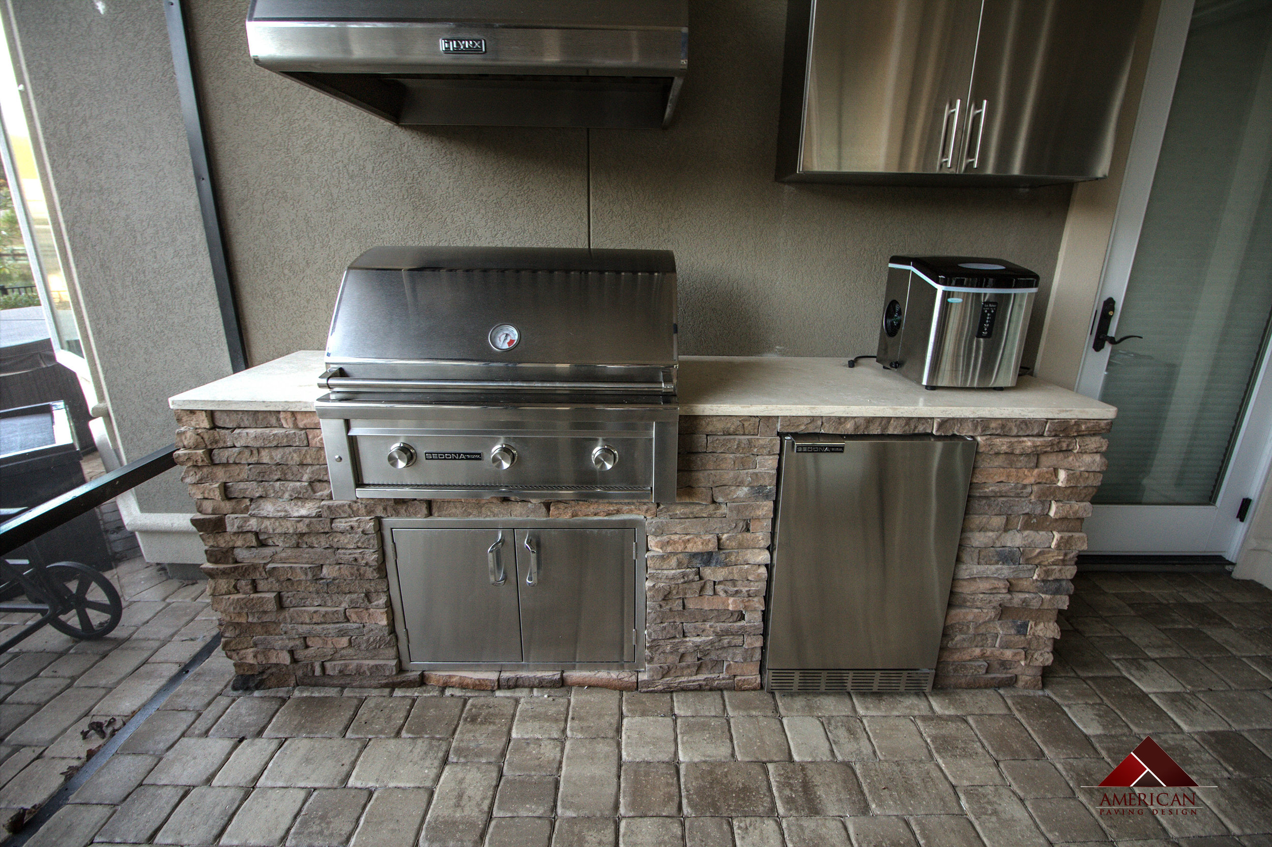 Paver Outdoor Kitchens