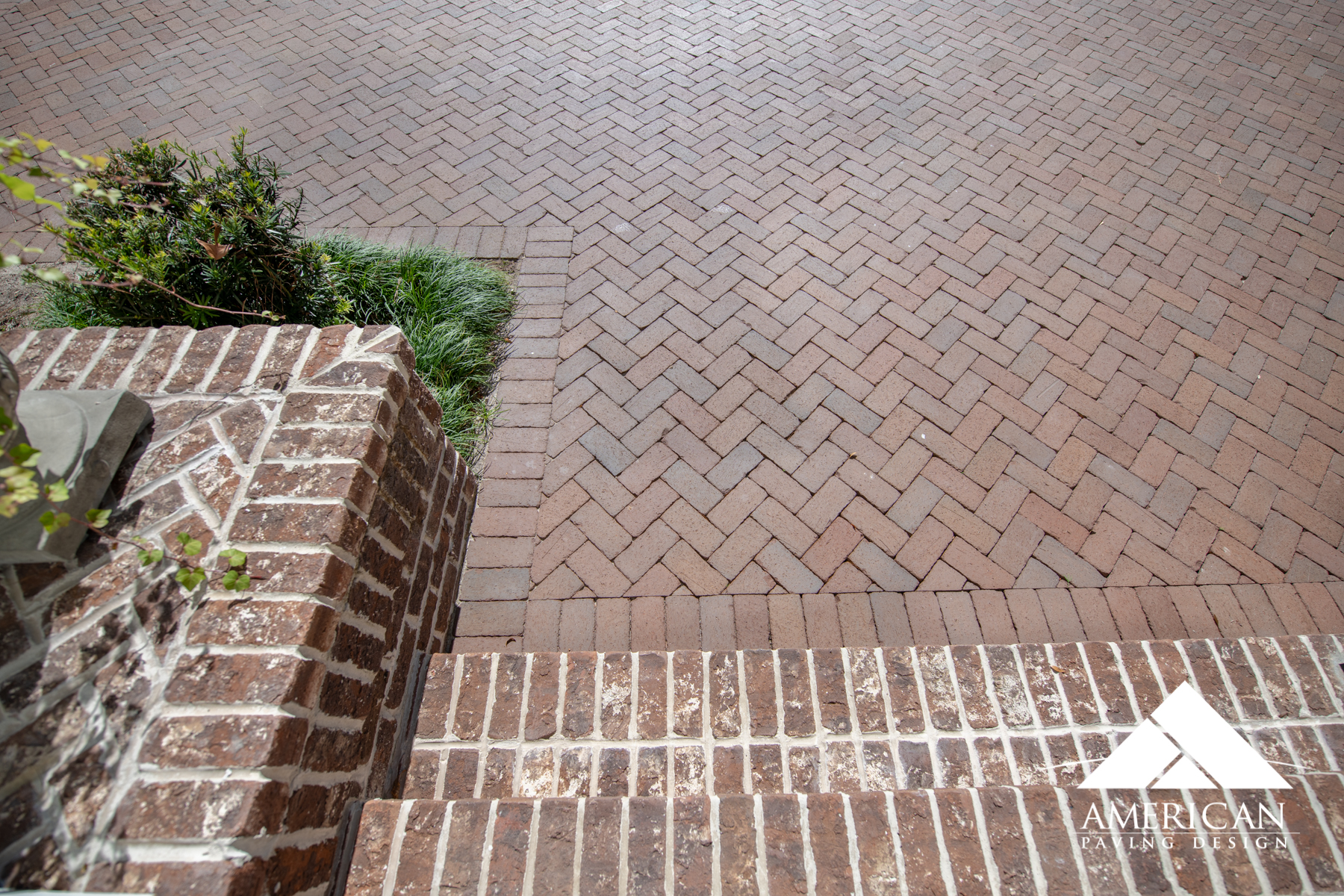 Old Savannah grey brick installations