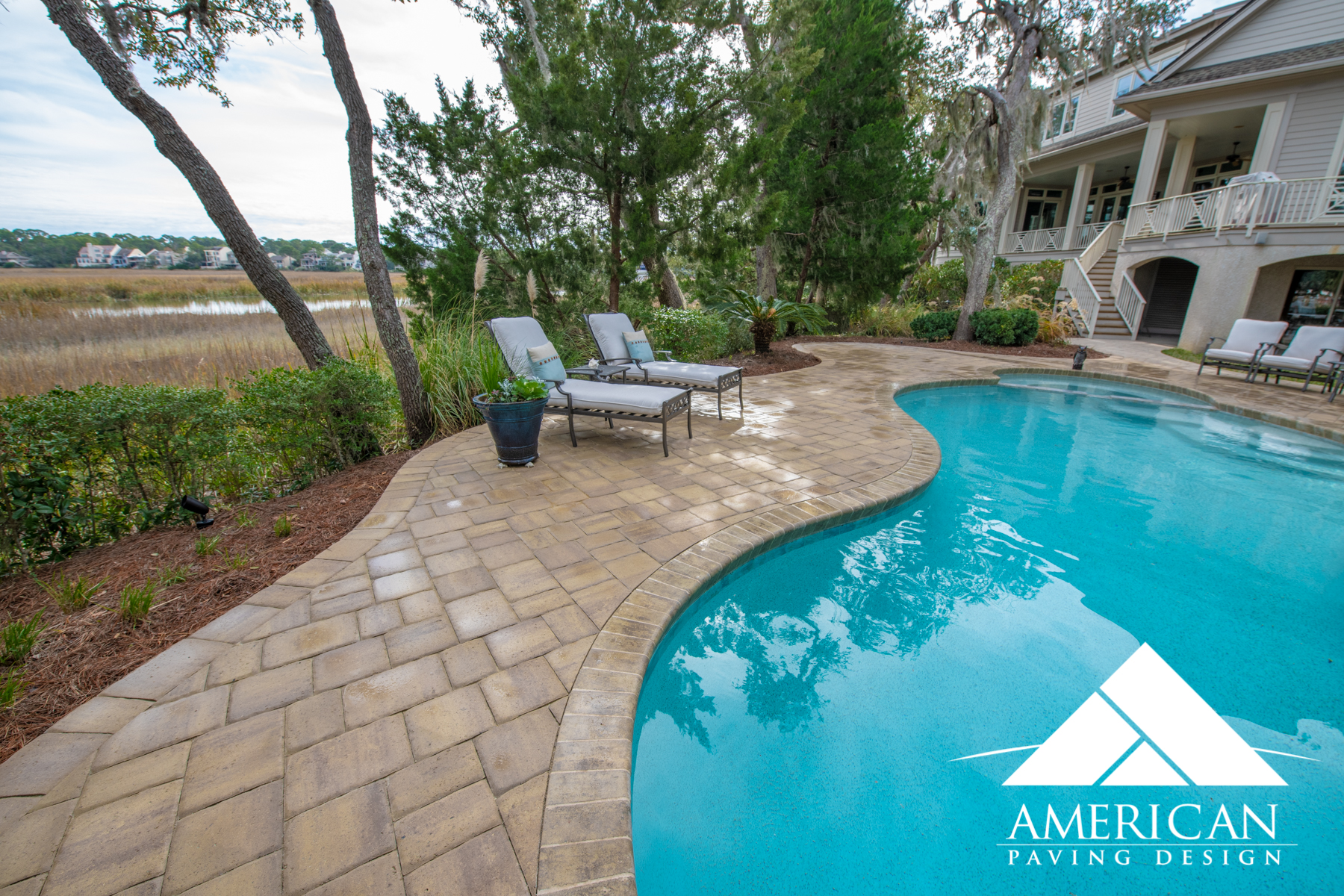 Paver pool decks  and coping installation can be as affordable or luxurious as you want to make it. Normally pool coping will cost an extra $15-25 a sq foot depending on material selections.
