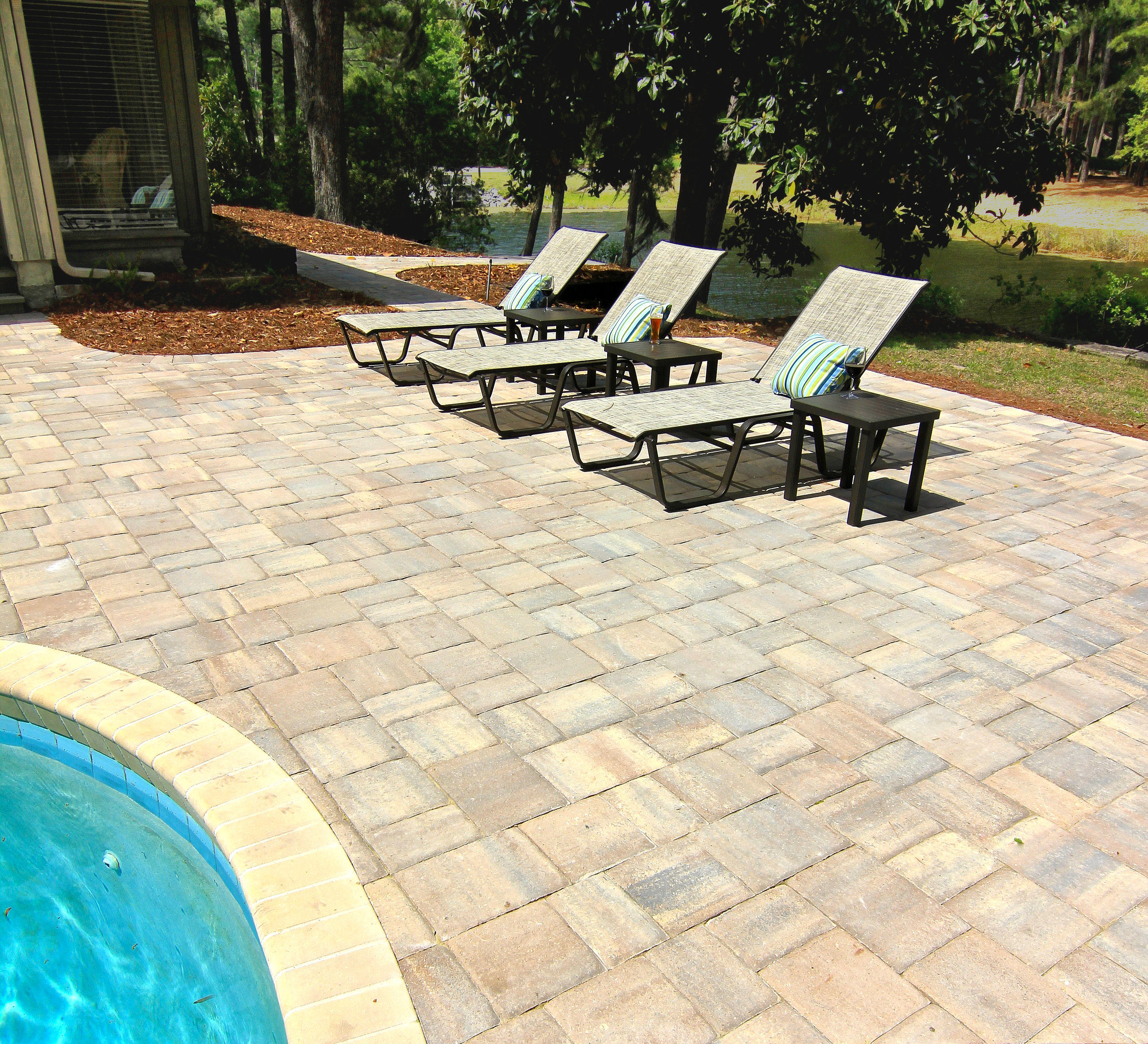 How Much Does A Paver Pool Deck Cost American Paving Design