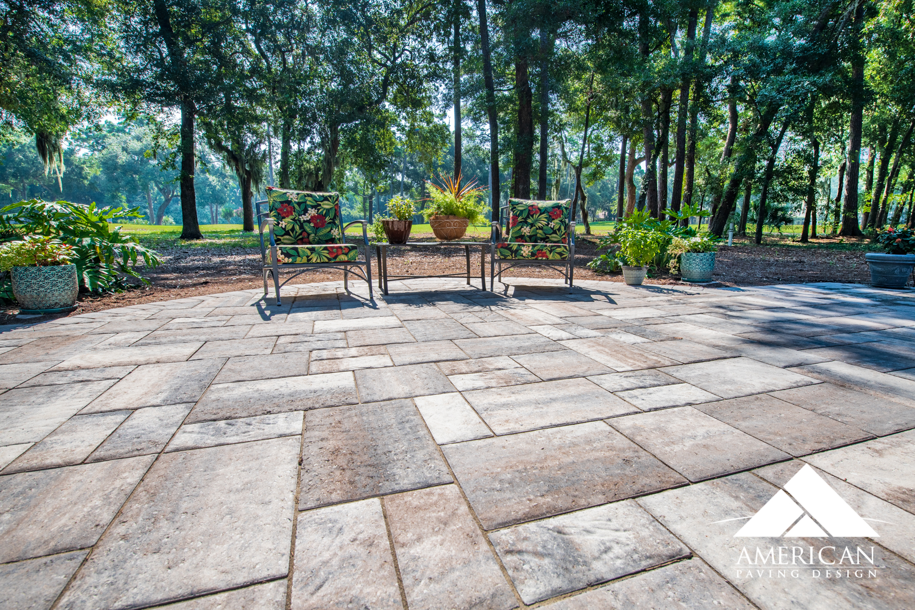 Do you like  textured pavers ? These large brick pavers are textured to make any patio stand out! Concrete definitely can't do this!