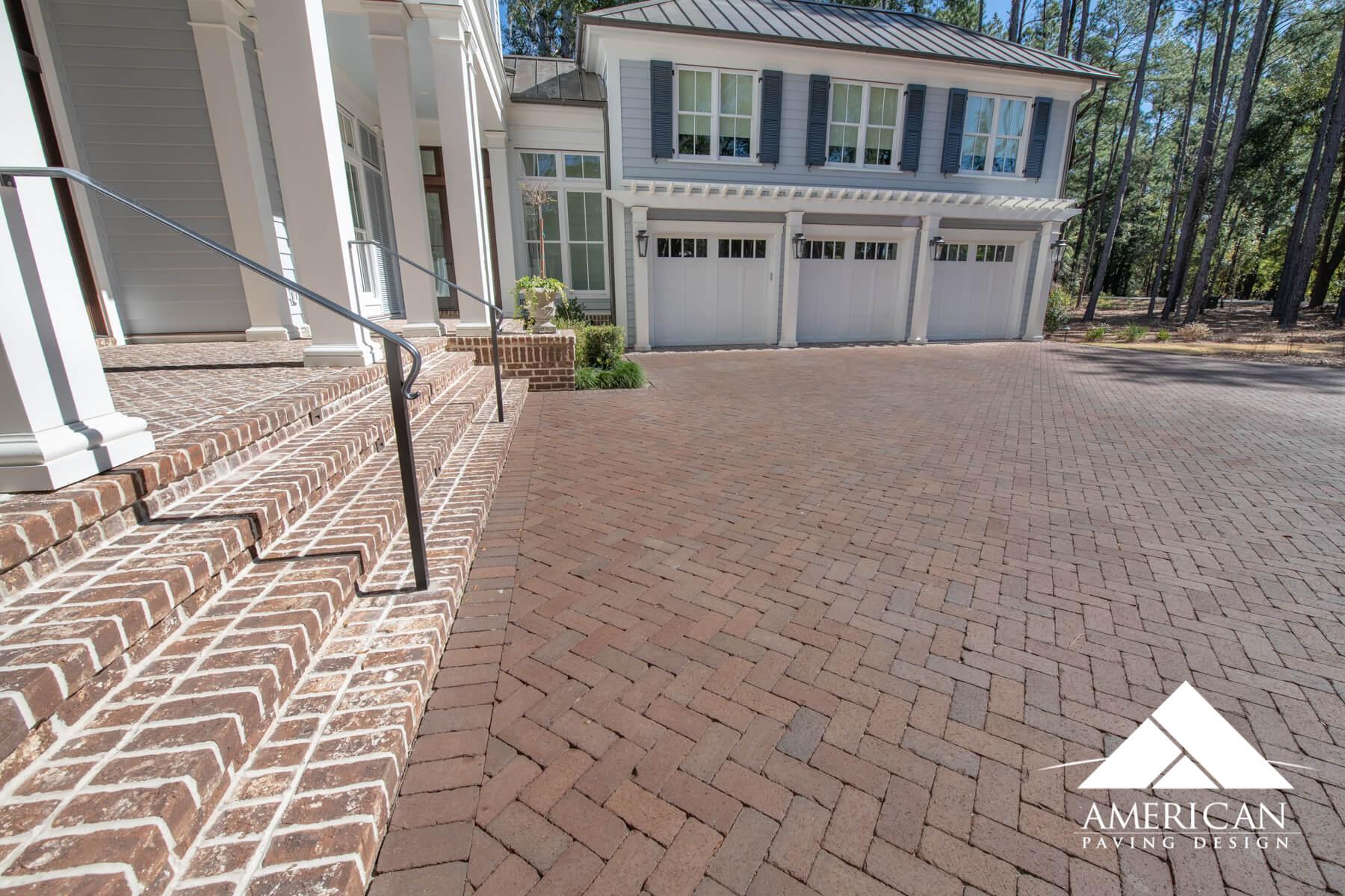 Traditional 4x8 Brick Pavers - Savannah, GA