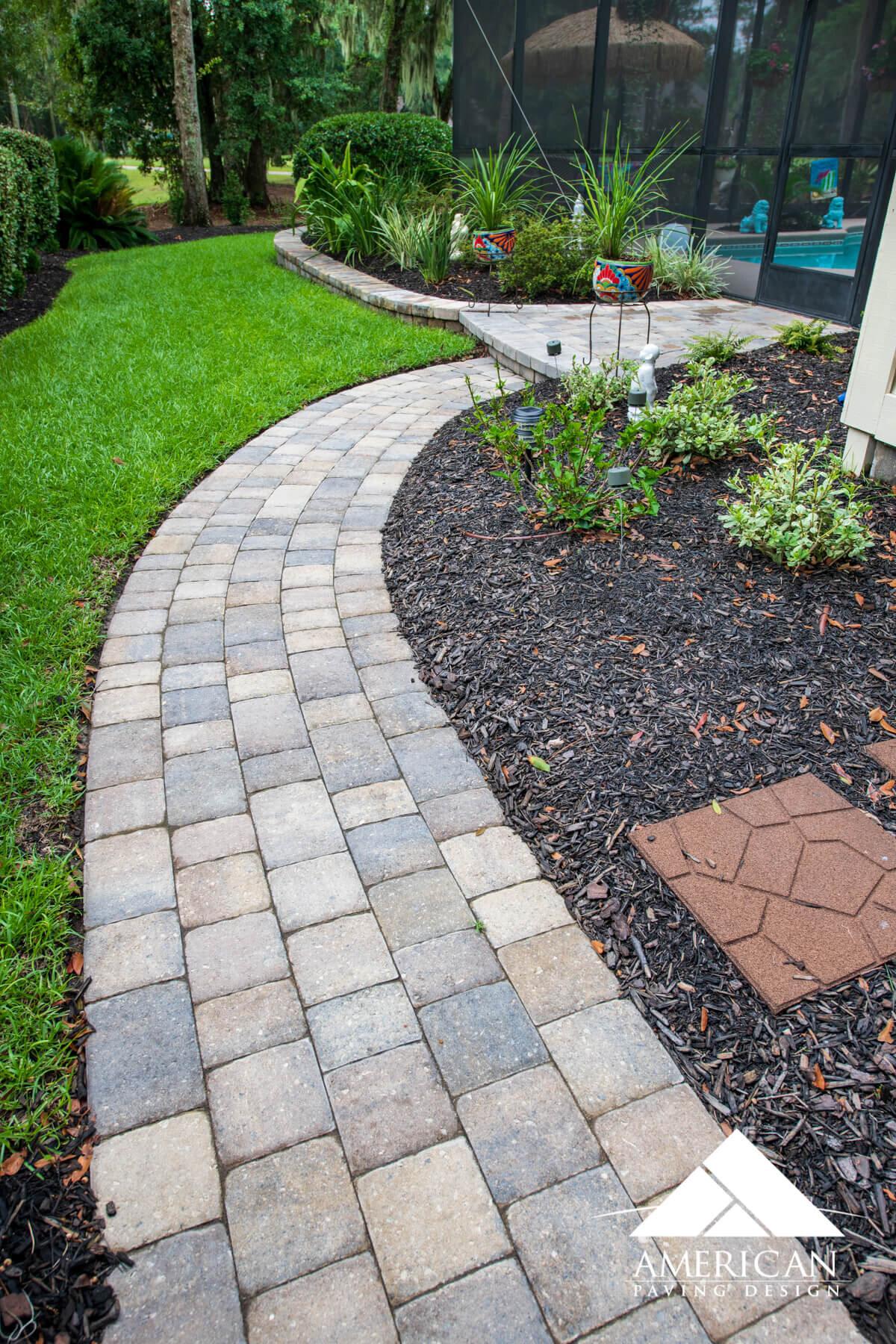 Brick Paver Walkway Designs