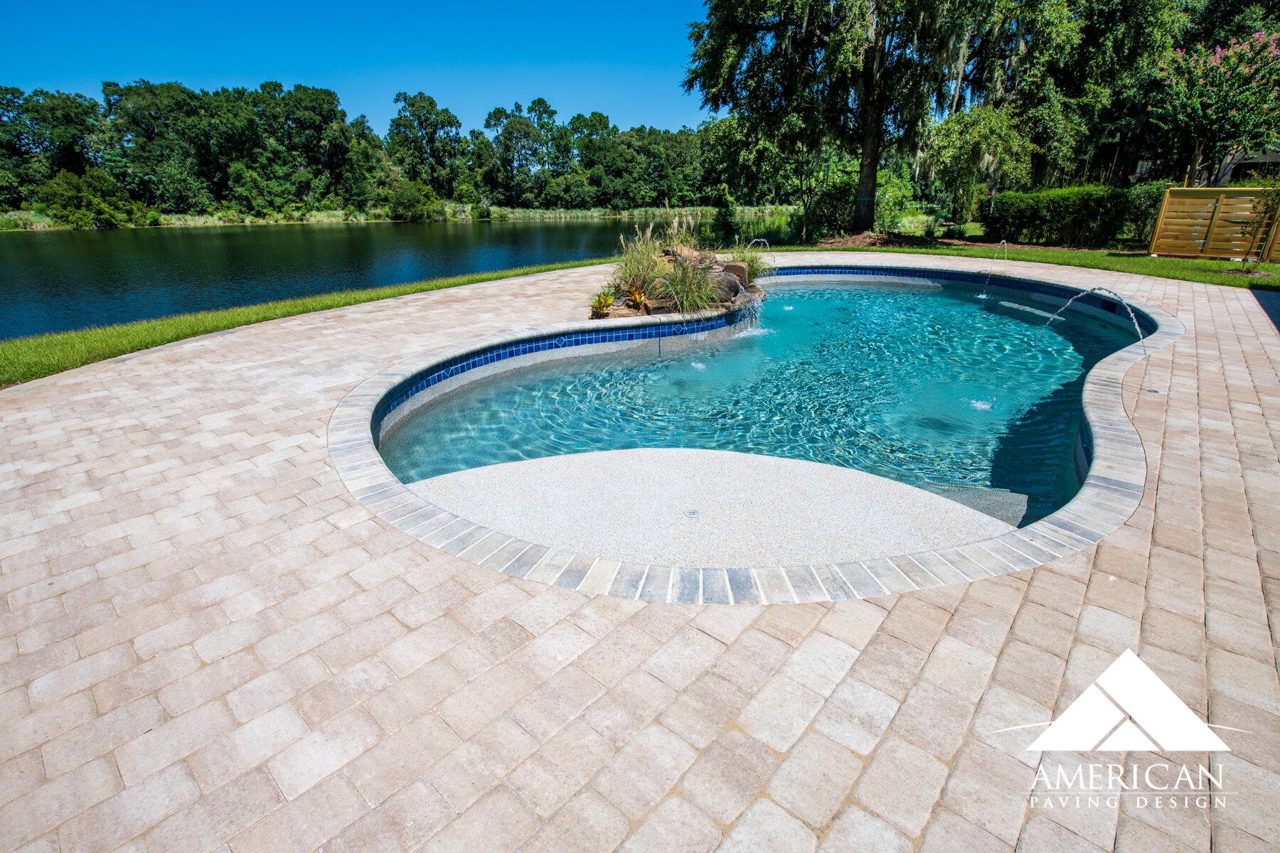 Overlay Pool Deck Ideas