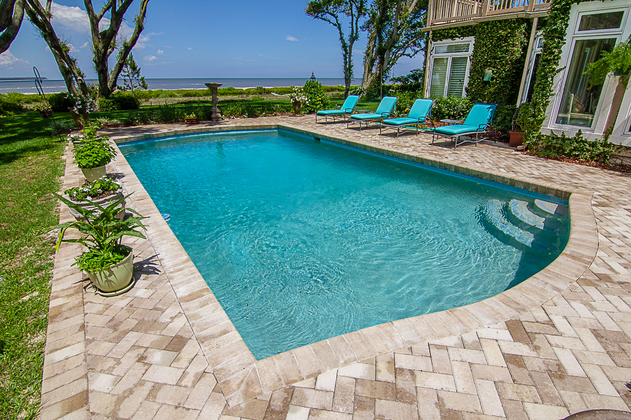Paver Pool Deck Remodels