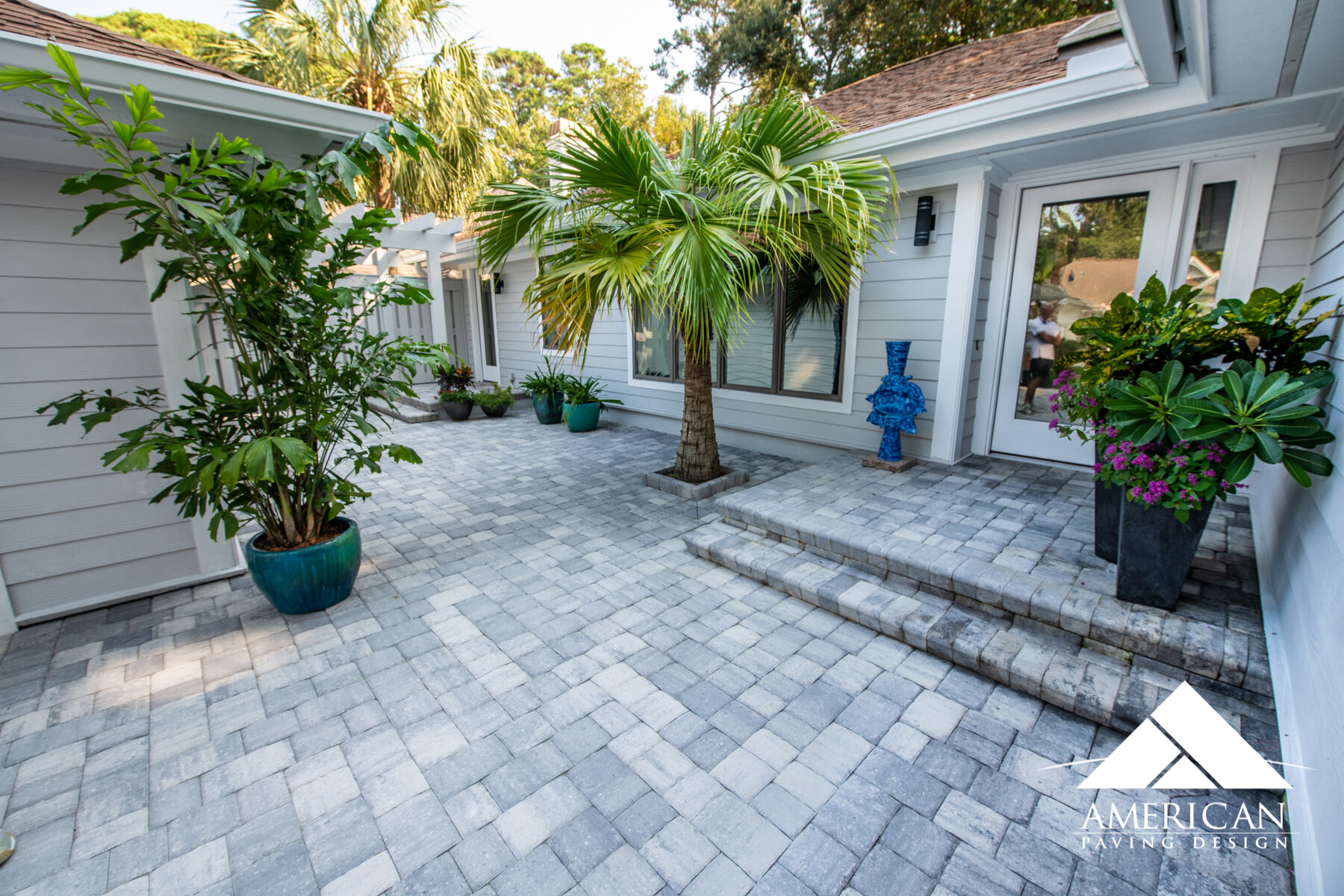 Courtyard Pavers