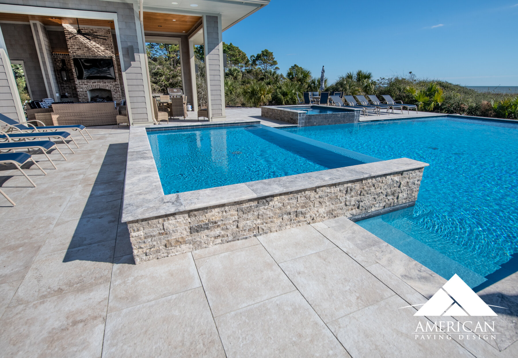 Swimming Pool Pavers American Paving Design