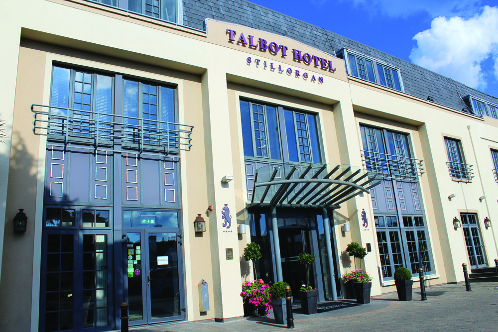 Laura's course includes a five-month internship at the Talbot Hotel Stillorgan