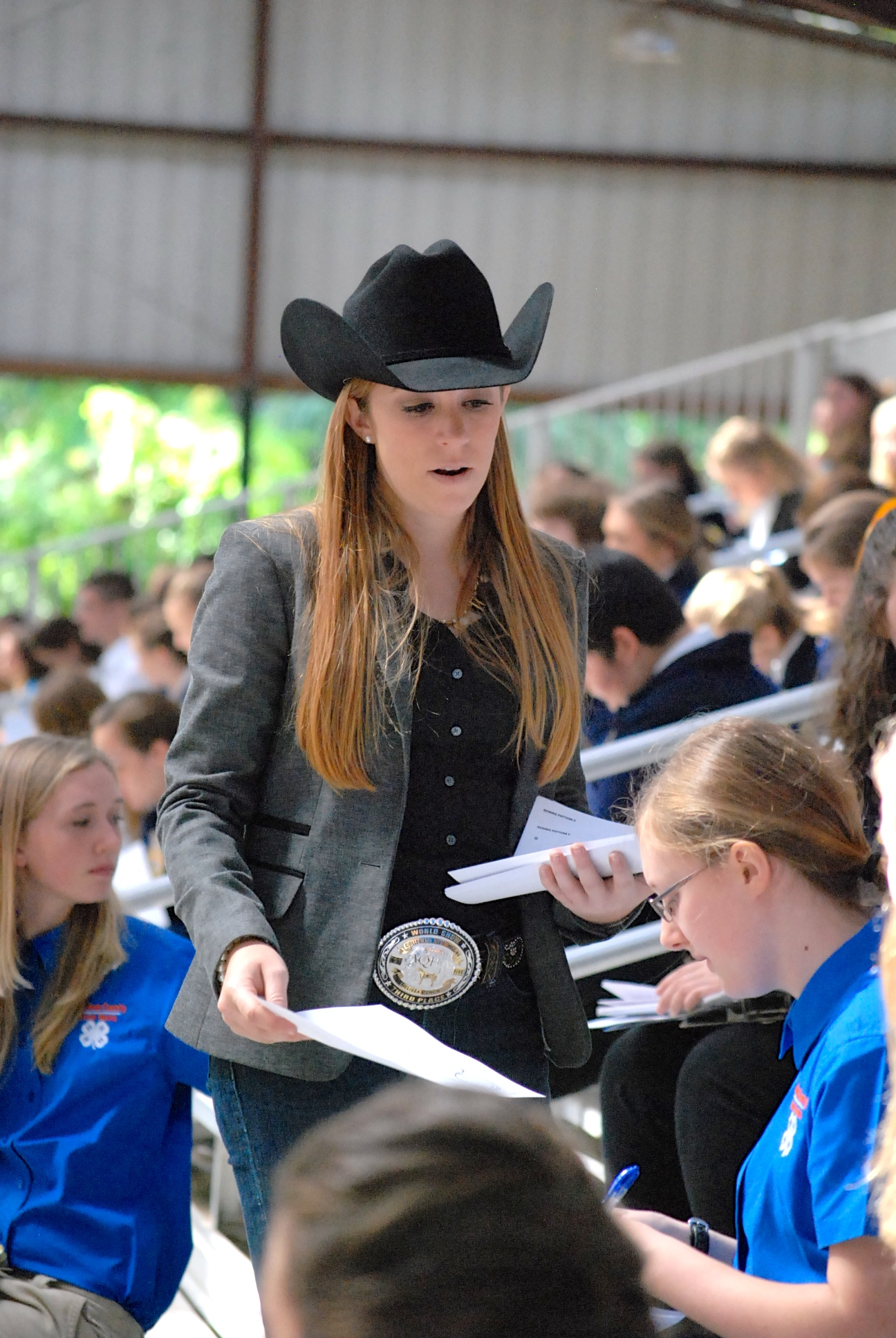 Melissa Tench - Joined 4-H at age 13