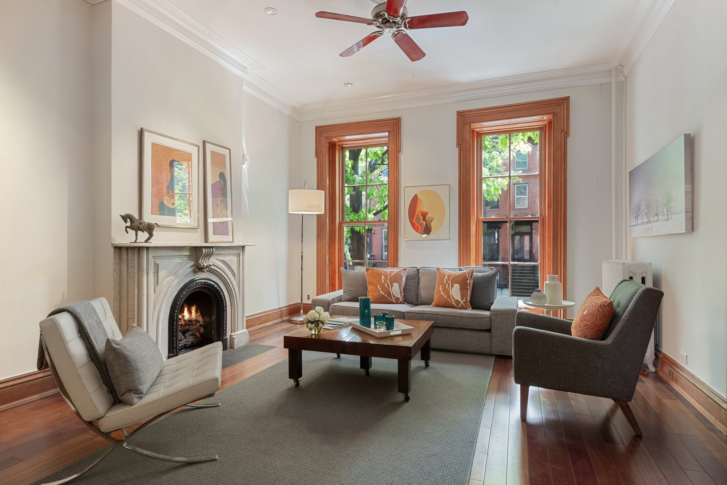 135 Gates Avenue - townhouse, Clinton hill, bk