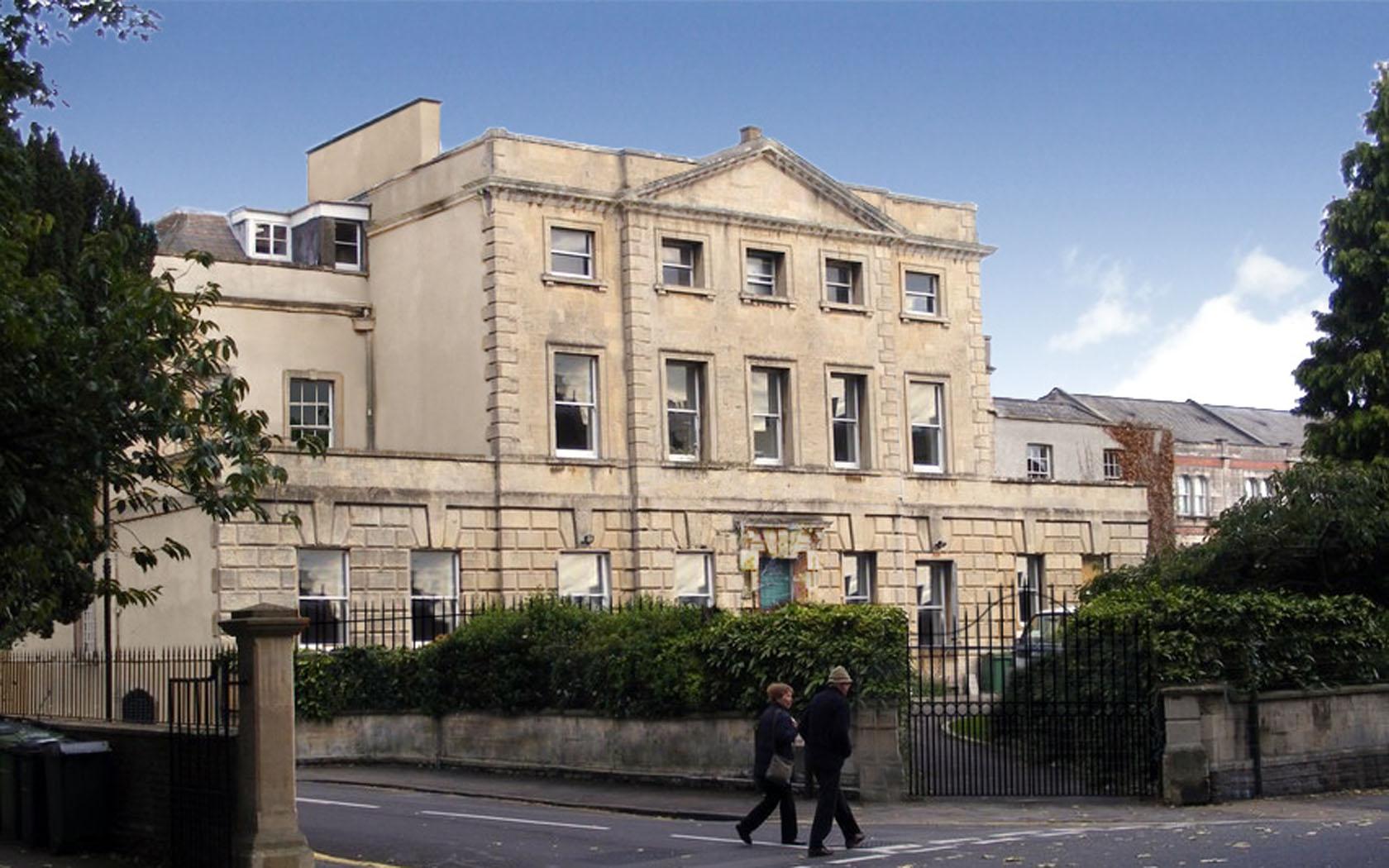 Photograph of Mortimer House entrance