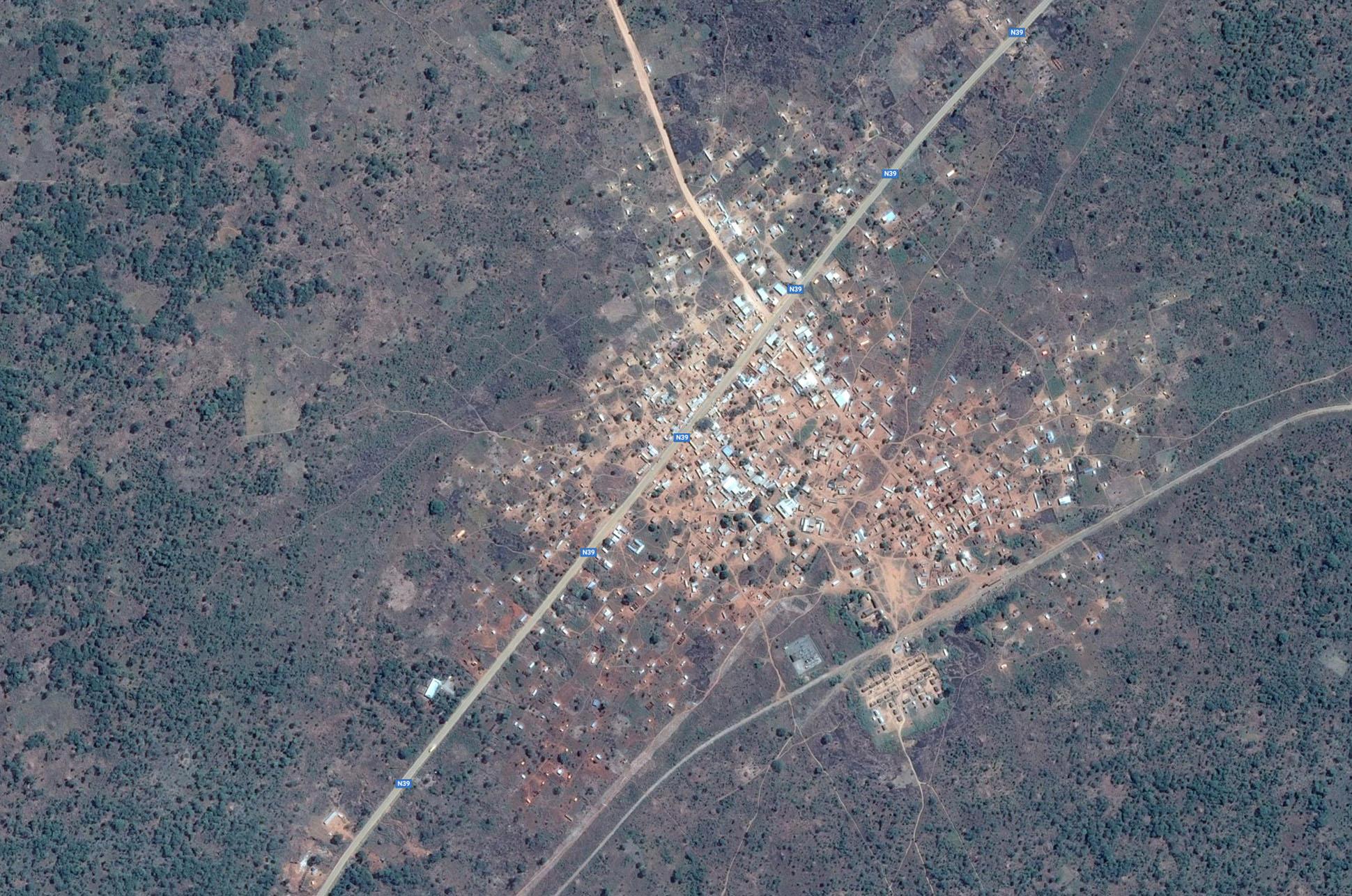 Site 1: Google Earth Satellite Plan