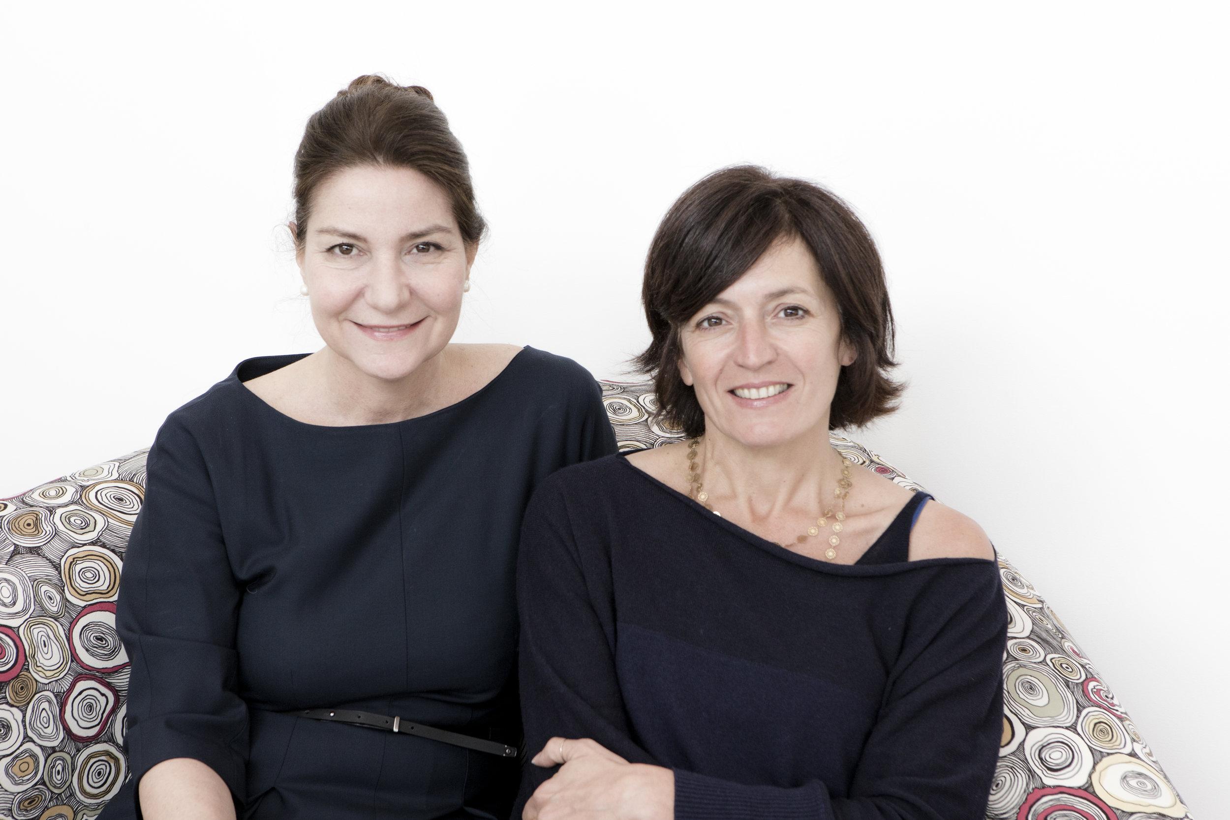 MDFF curators Antonella Dedini and Silvia Robertazzi (left to right)