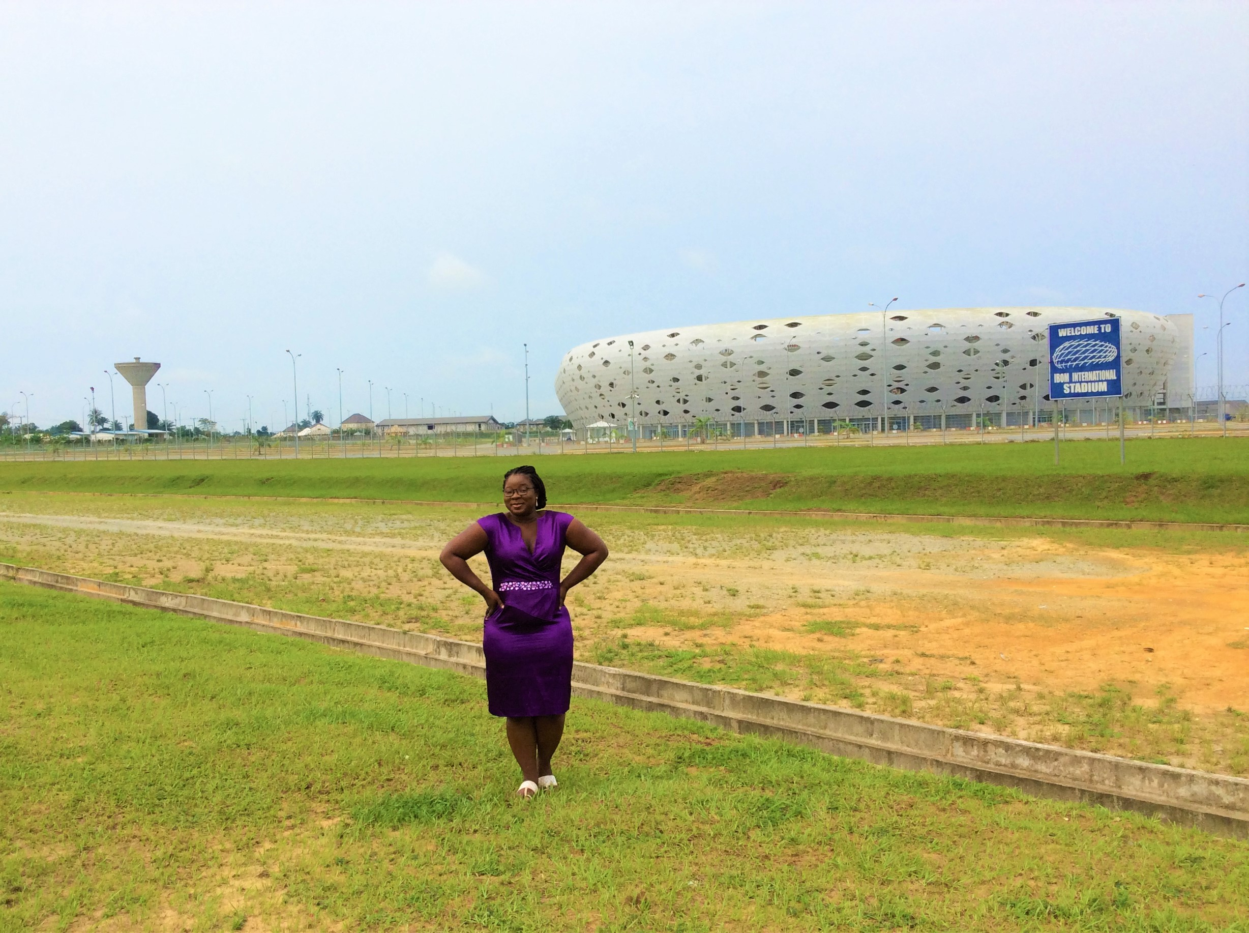 GODSWILL APKABIO INTERNATIONAL STADIUM. The 30,000 seater stadium is used for international matches and also serves as a center for various social, cultural, and religious events. The construction contract was awarded in 2012 to Julius Berger and was completed in 2014 (JB doesn't play).Let's not forget the modeller, Allianz Arena.