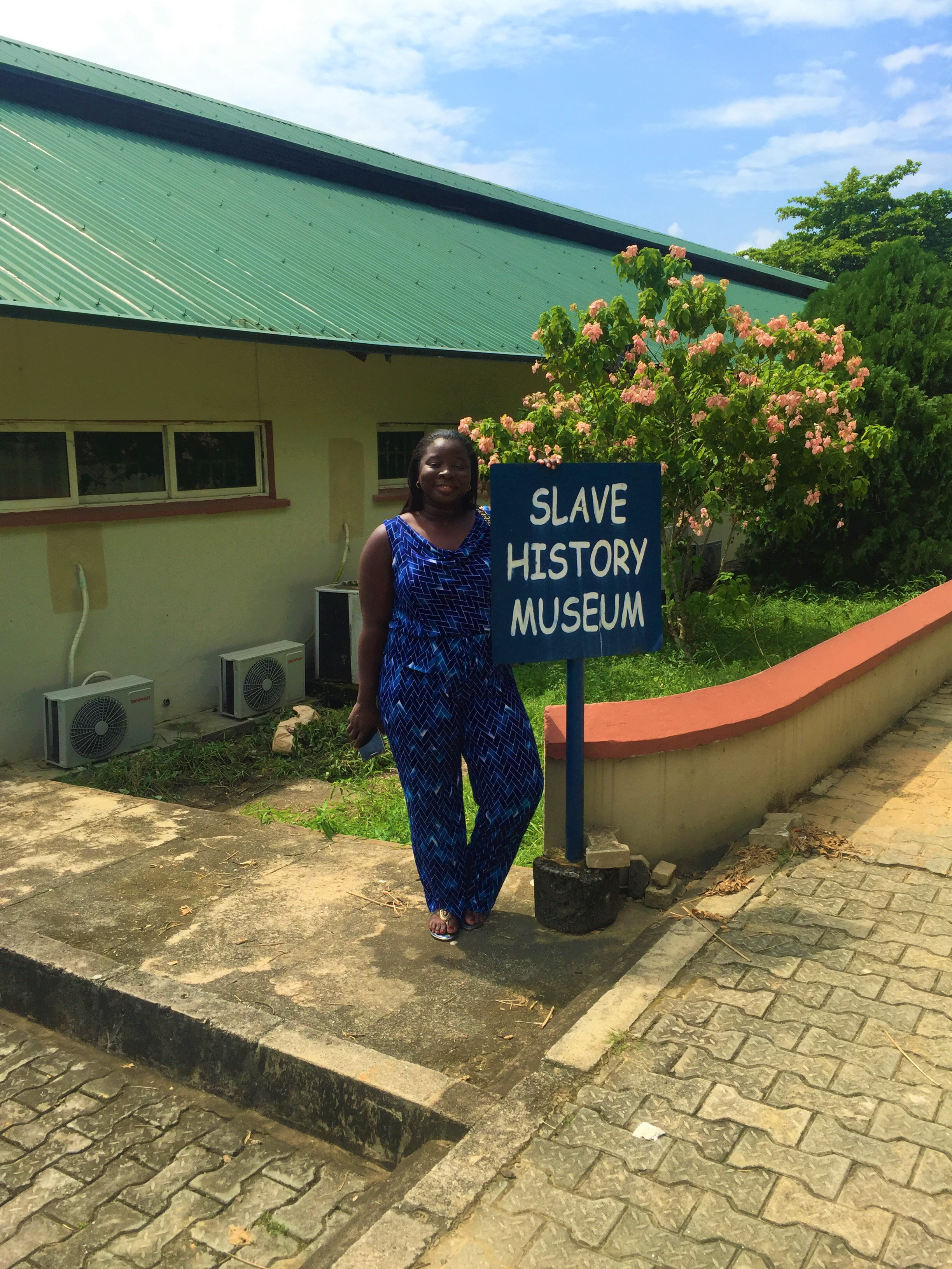 CALABAR SLAVE MUSEUM   (No pictures allowed inside)