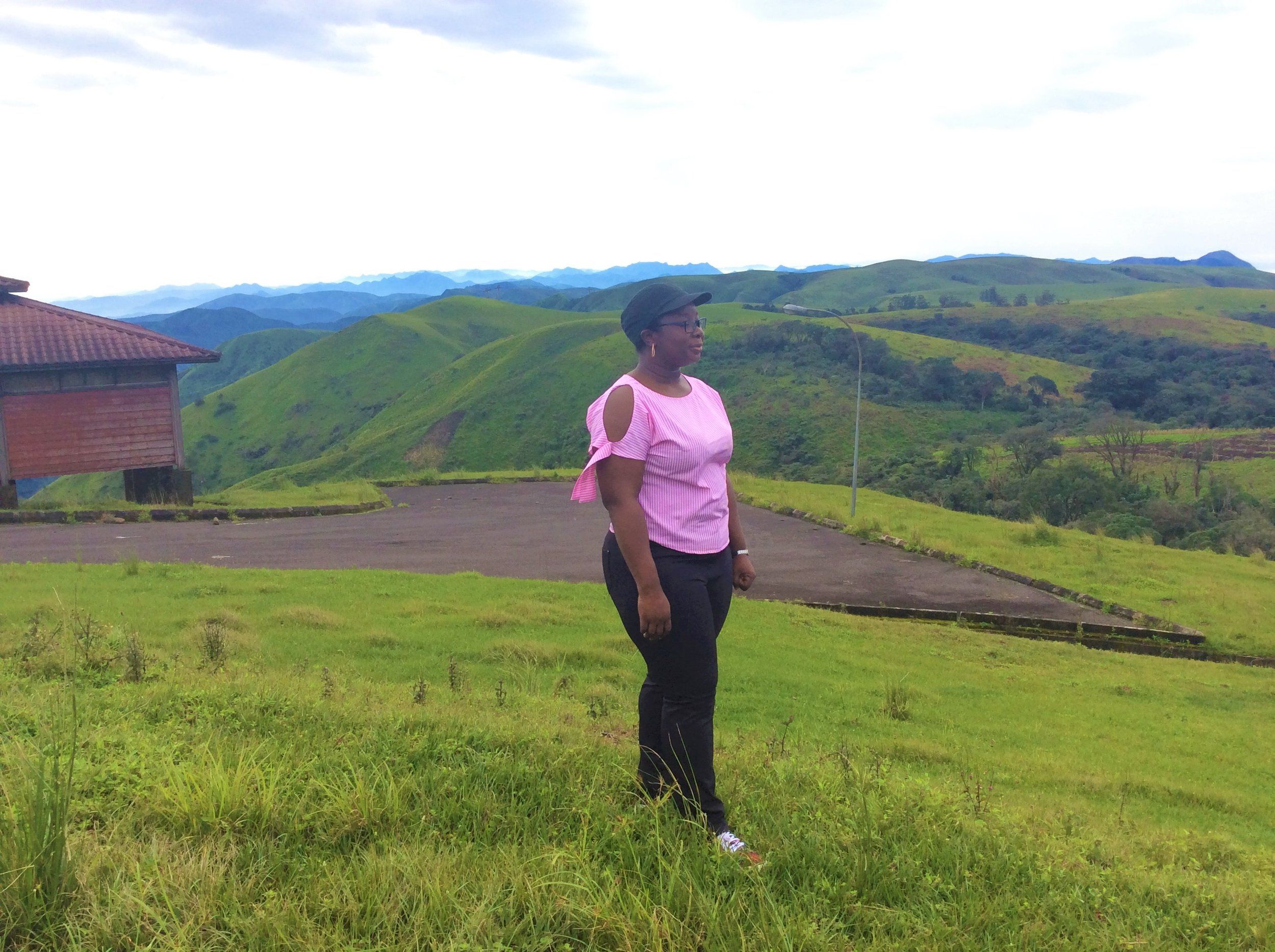 SPECTACULAR BIRDS EYE VIEWS FROM THE MOUNTAIN VIEW CABIN   Obudu Conservation Center
