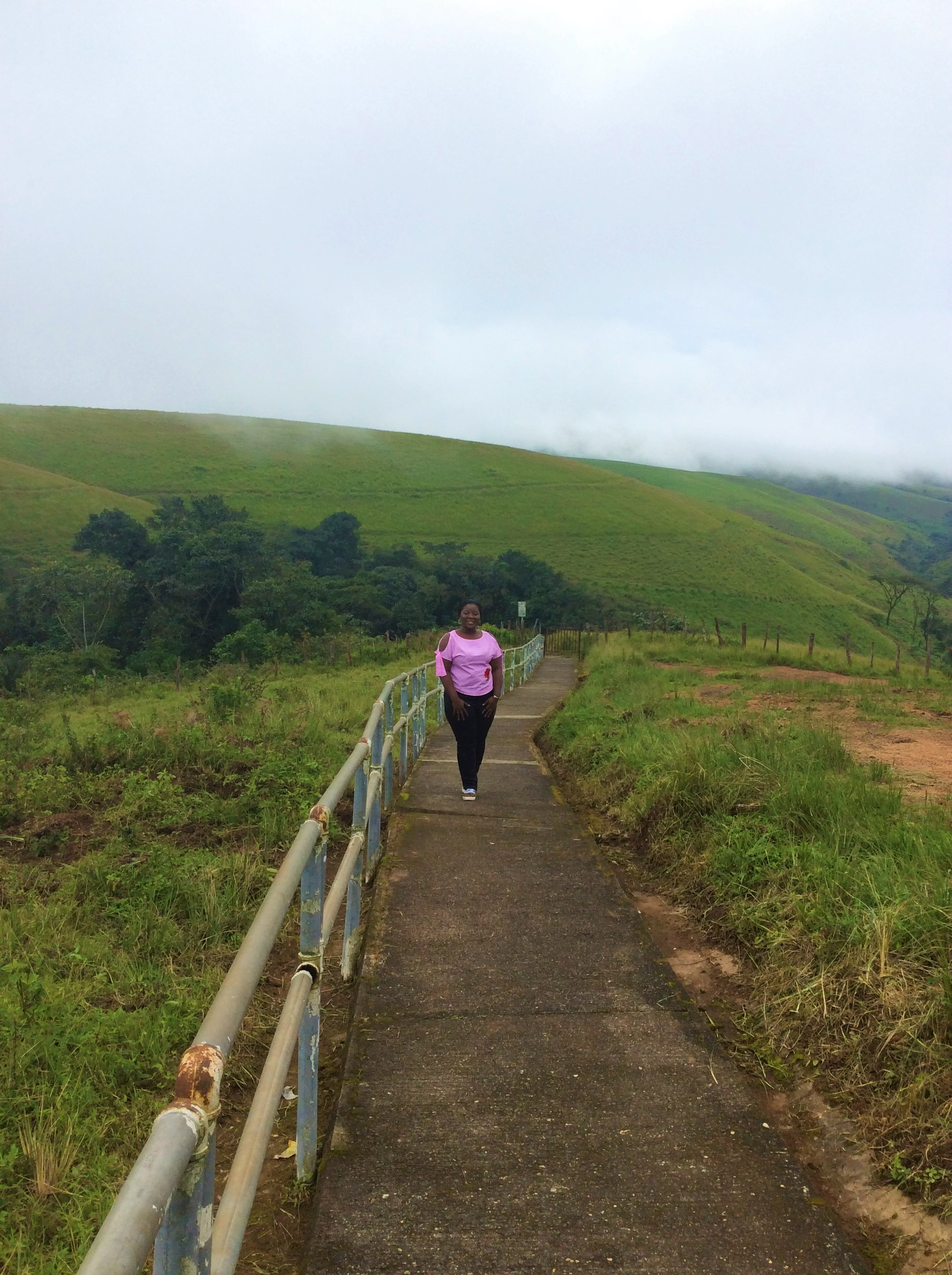 OBUDU MOUNTAIN RESORT   The Ajala Bug   WALKWAY LEADING TO IGAGA WATERFALL