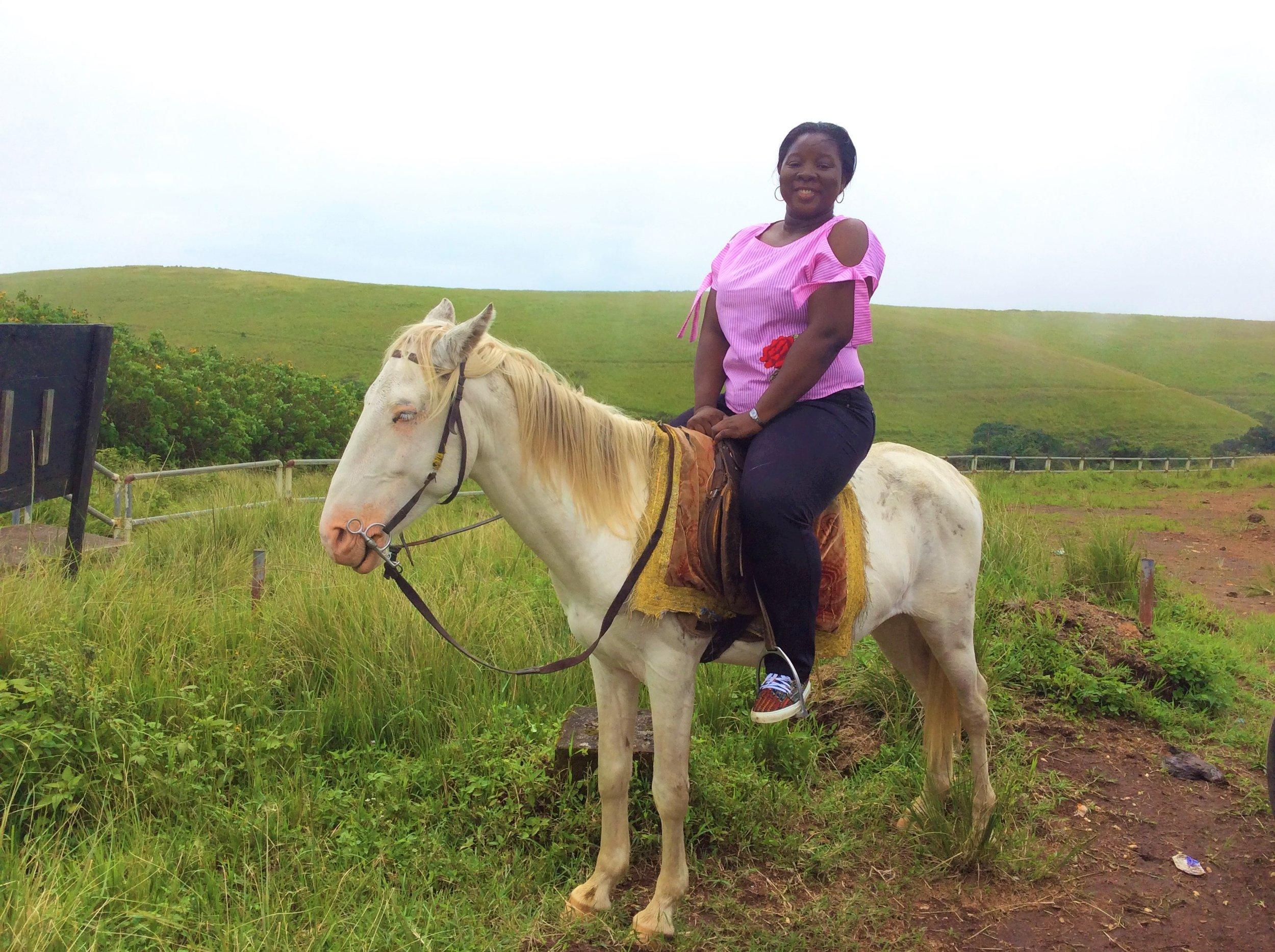HORSEBACK RIDE AND SOME VIEWS   Obudu Conservation Center