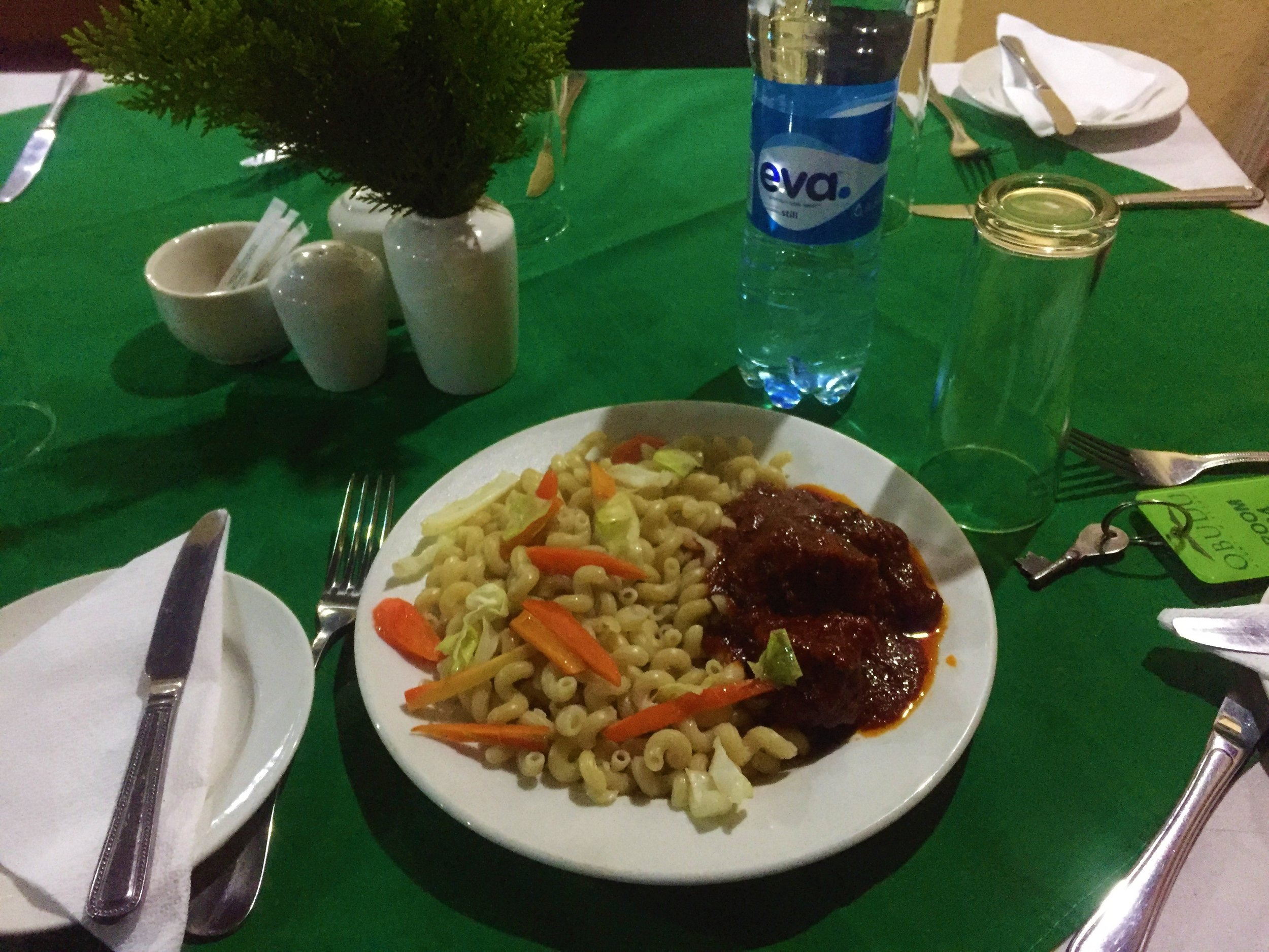 Obudu Resort Hotel | The Ajala BugBreakfast and Dinner were really good. Breakfast is complimentary and Dinner cost about N2,500