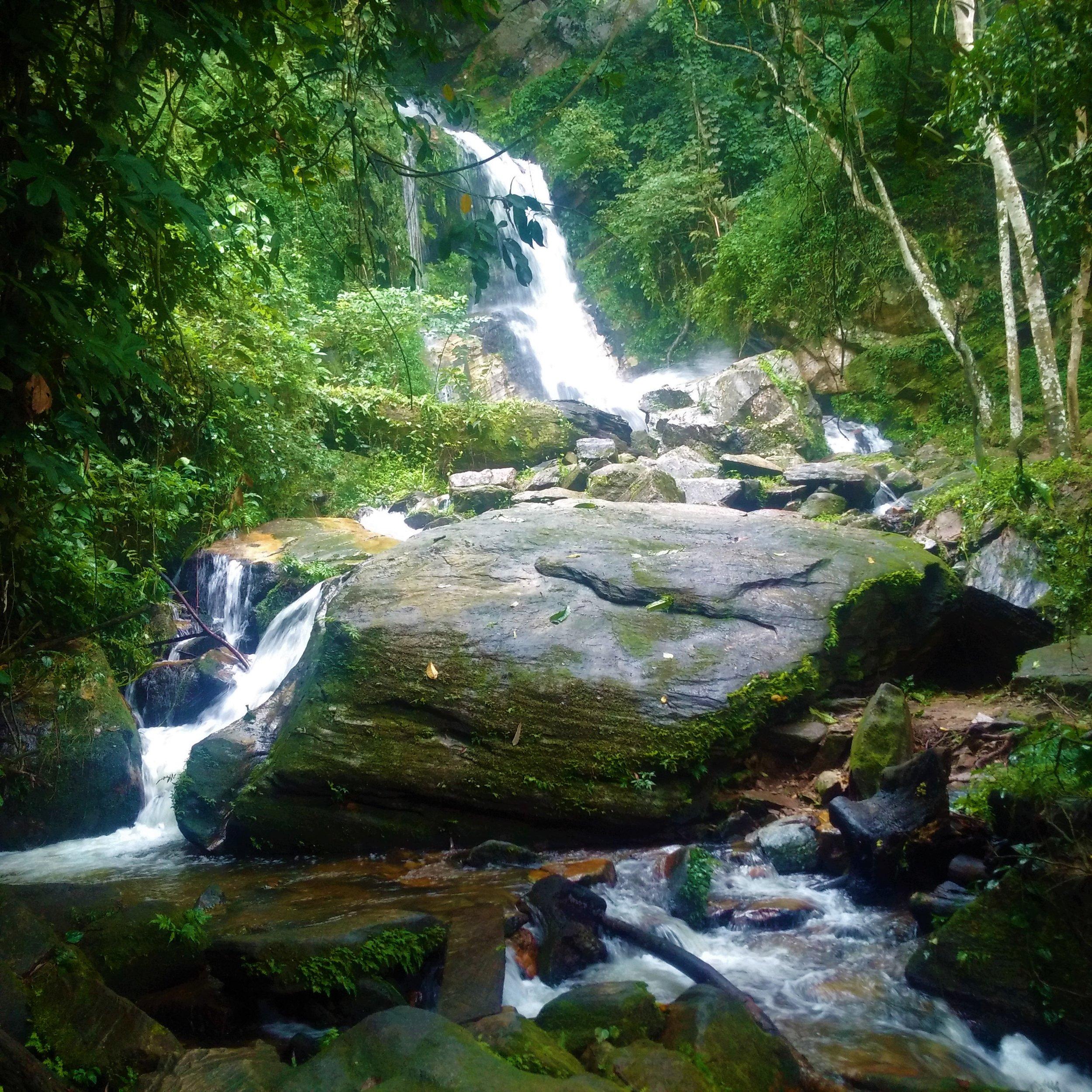 The beauty of Ekiti State called Arinta Waterfalls