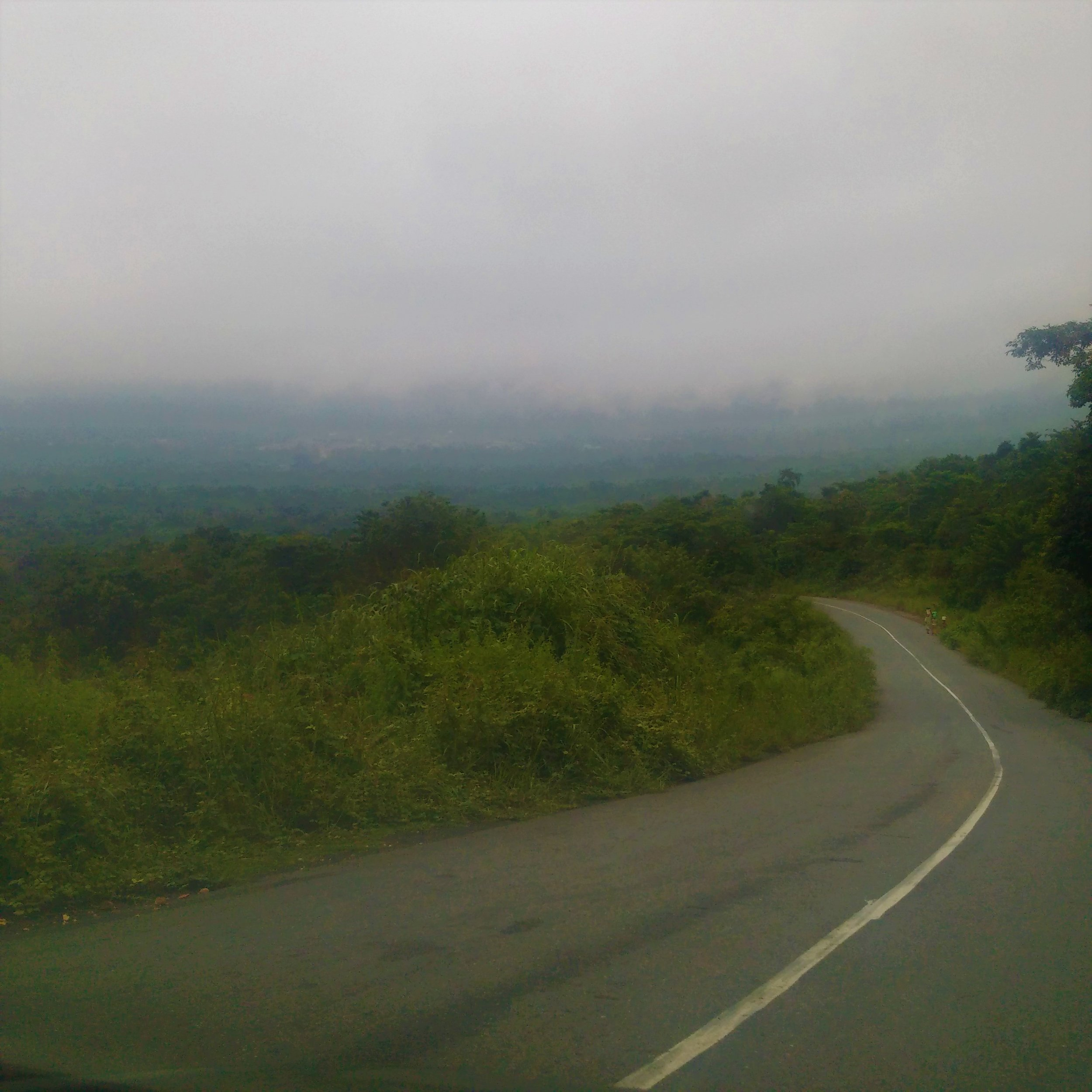 The road leading to Arinta Waterfalls from Ikogosi Resort. Quite commendable.