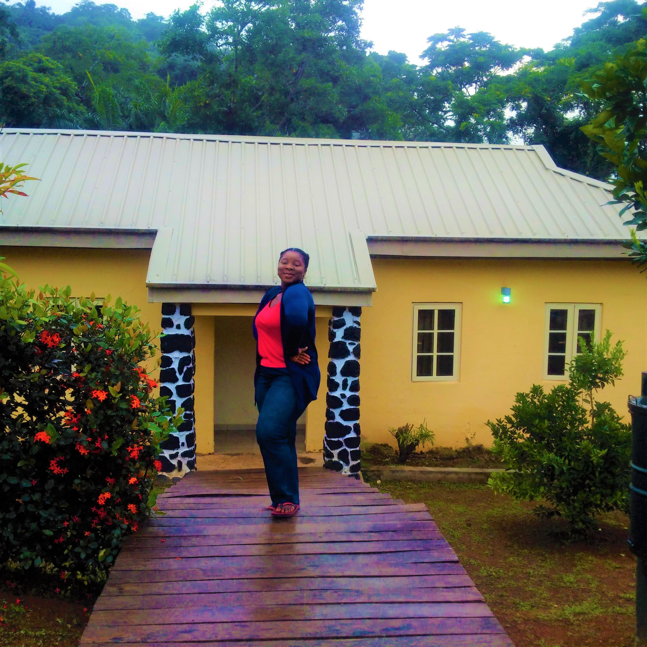 My apartment for a night at Ikogosi Resort