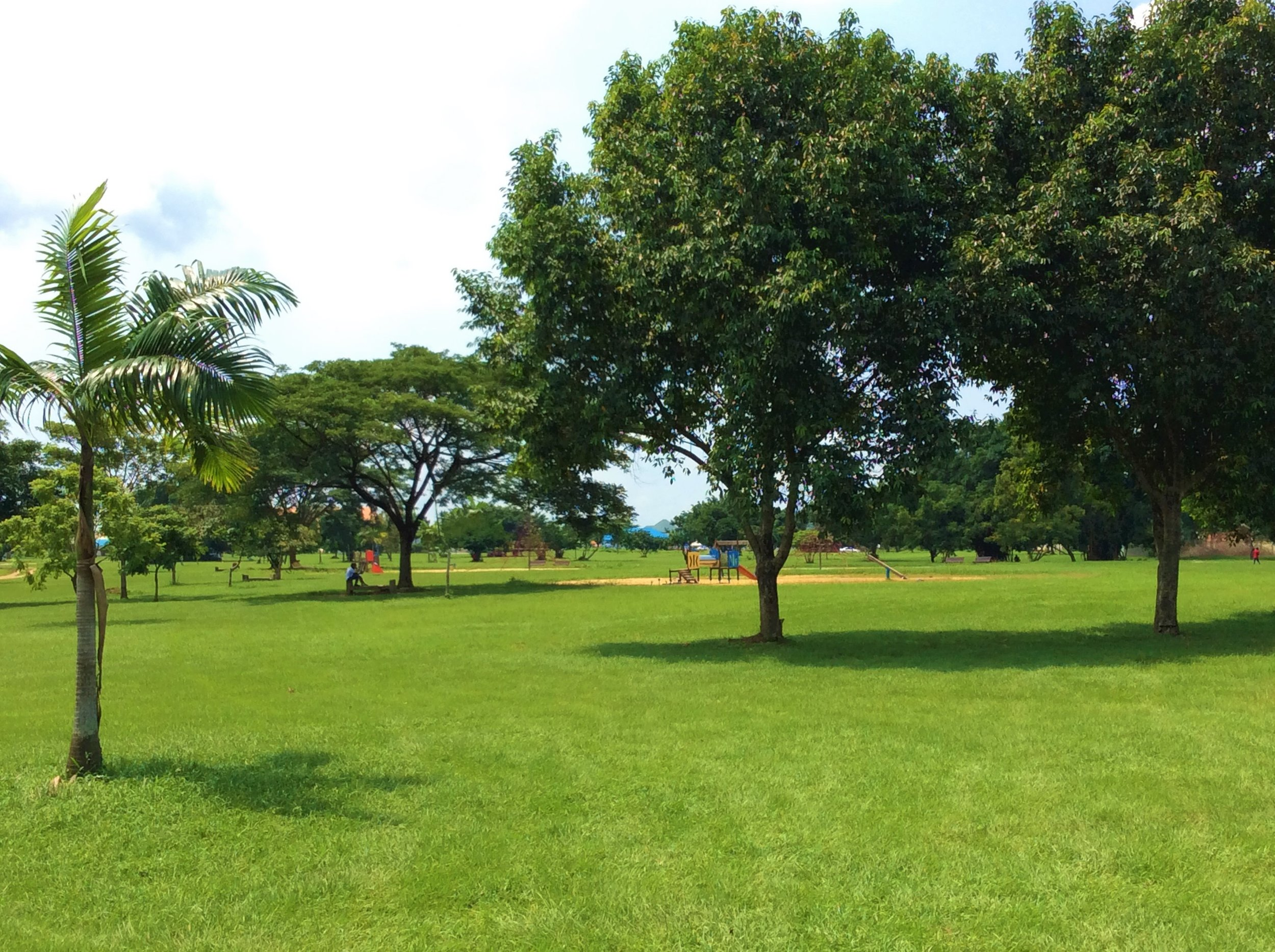 IBOM PARK.  This is a lush field where the good people of Uyo go for some relaxation. However, it is now more commonly used for birthdays and weddings.