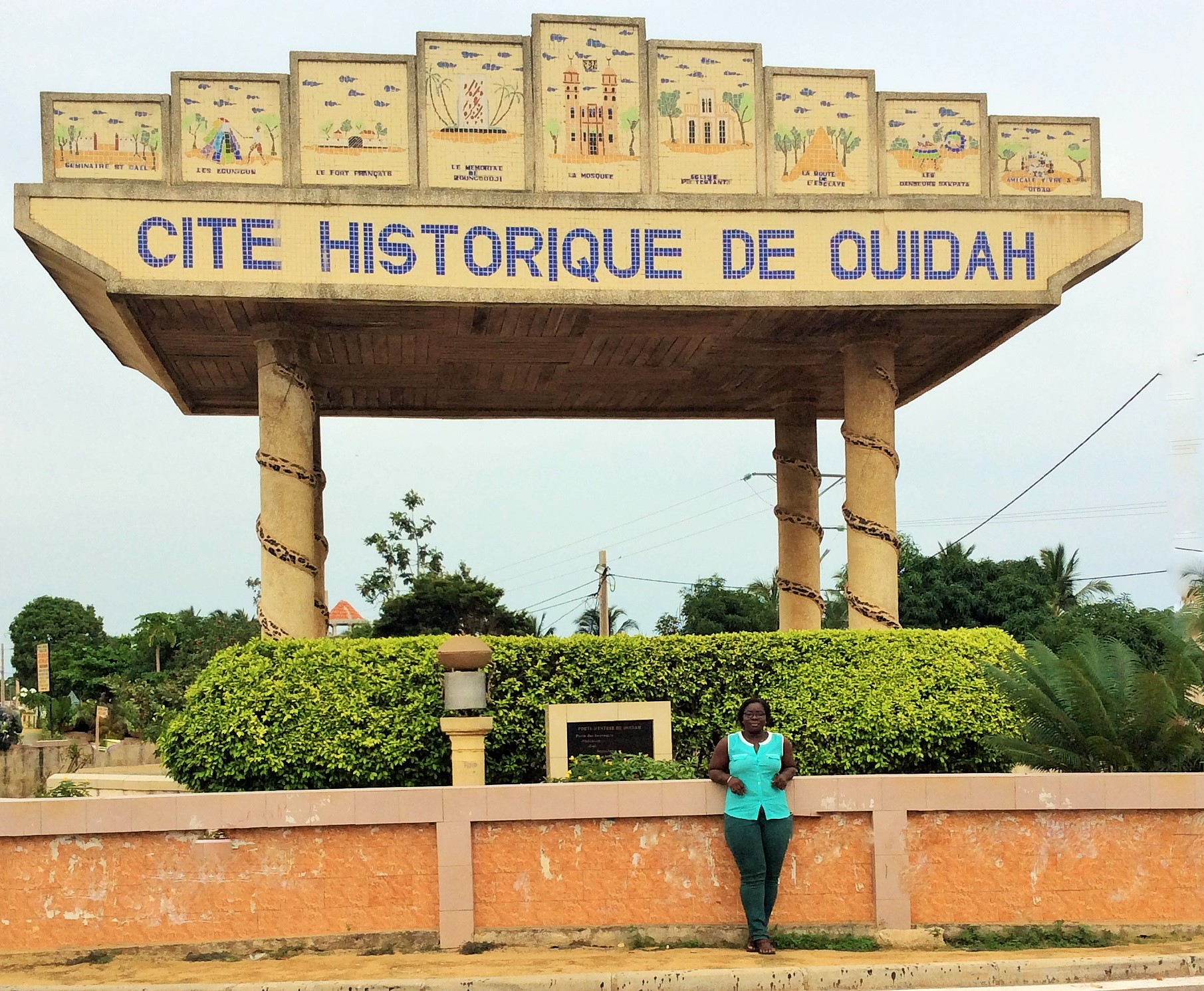 Entrance to Ouidah
