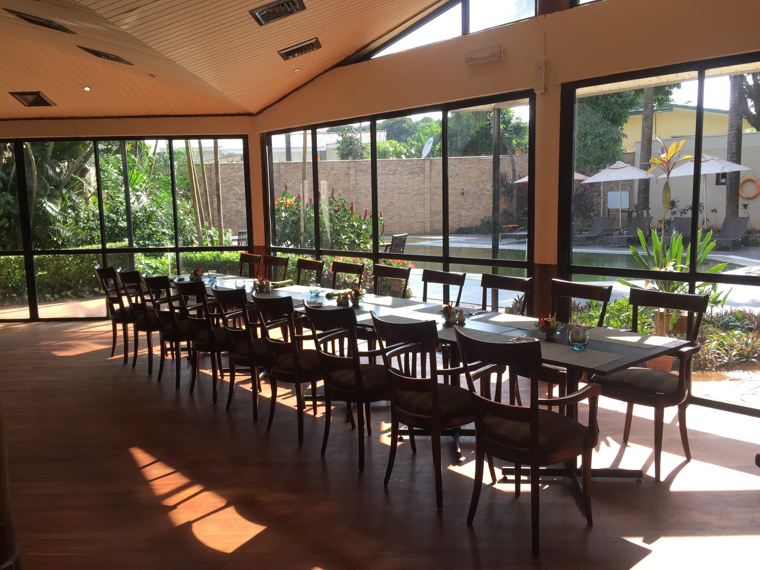 Such a sight. The beautiful setting of the restaurant. This area is perfect for group outings like birthdays etc