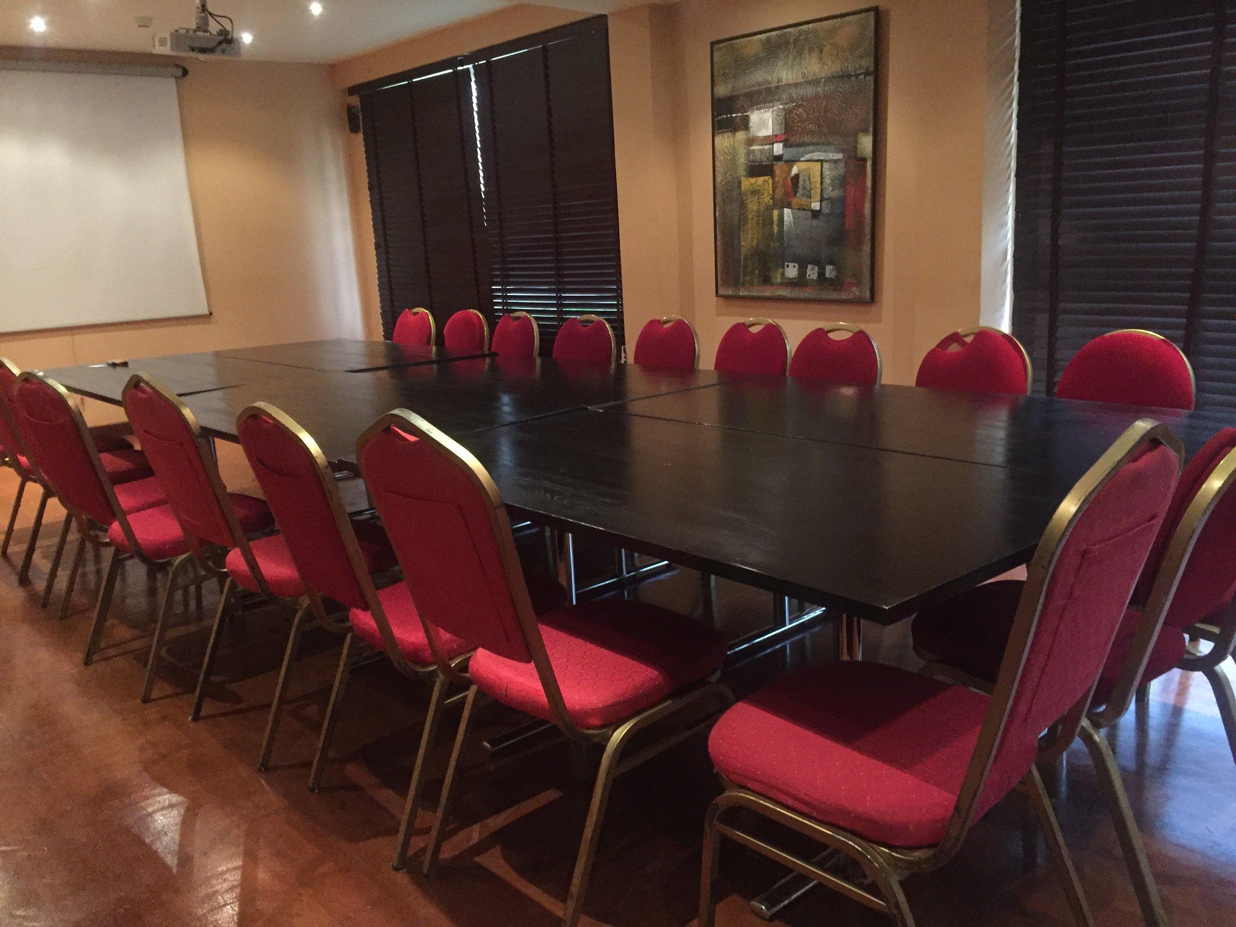 EREKO room with a 25-man sitting capacity