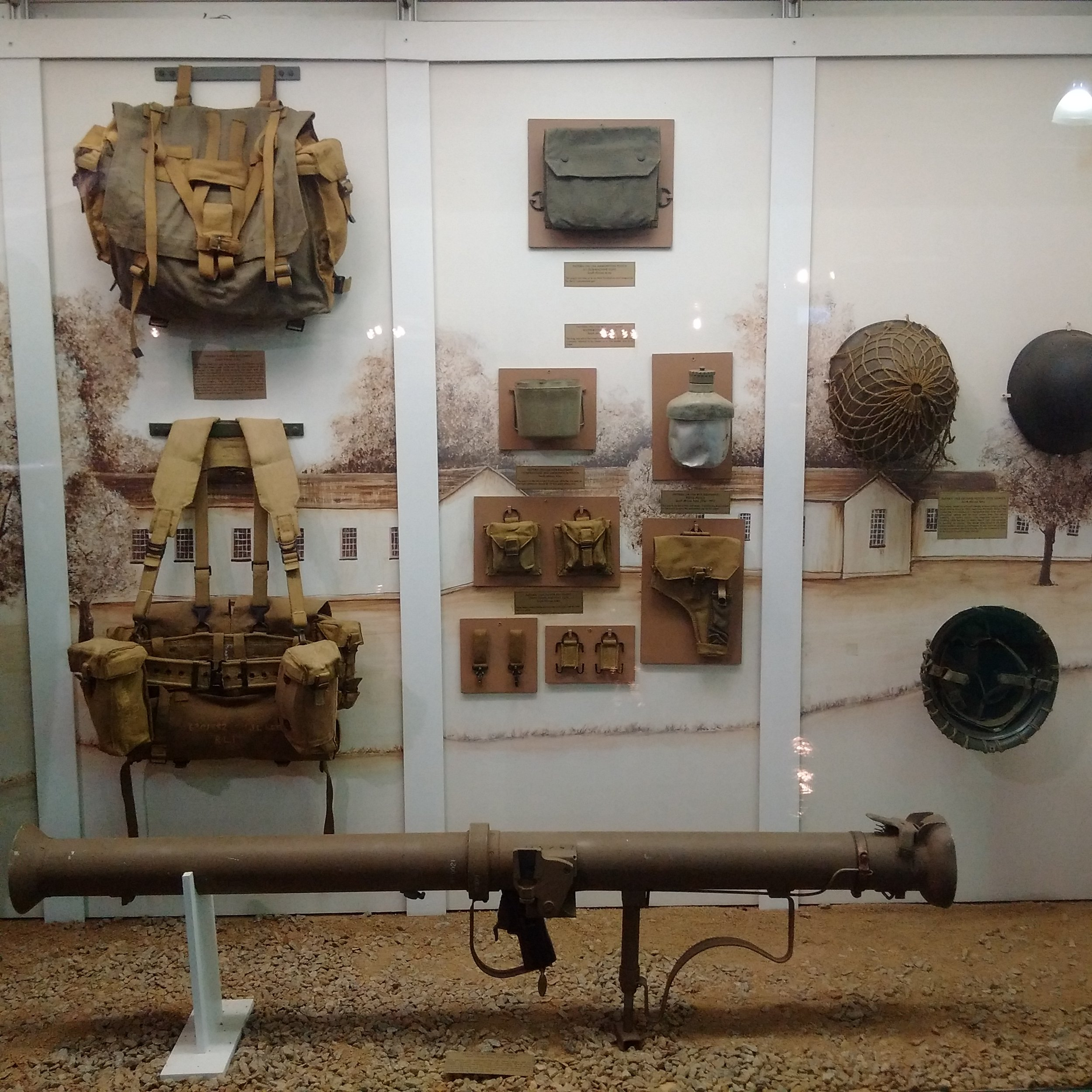National Museum of Military History | Various military gear