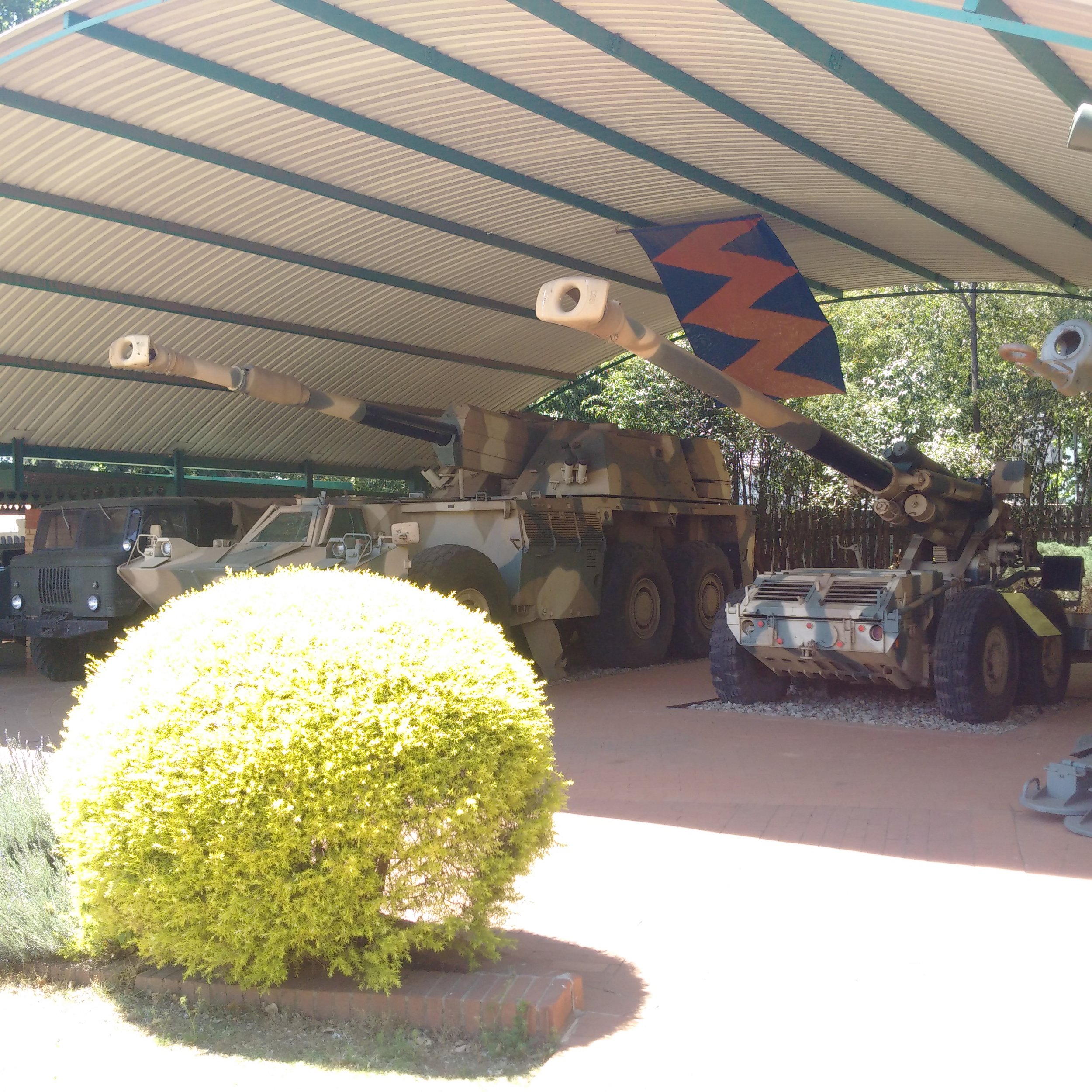 National Museum of Military HistoryA modified South African Centurion Tank