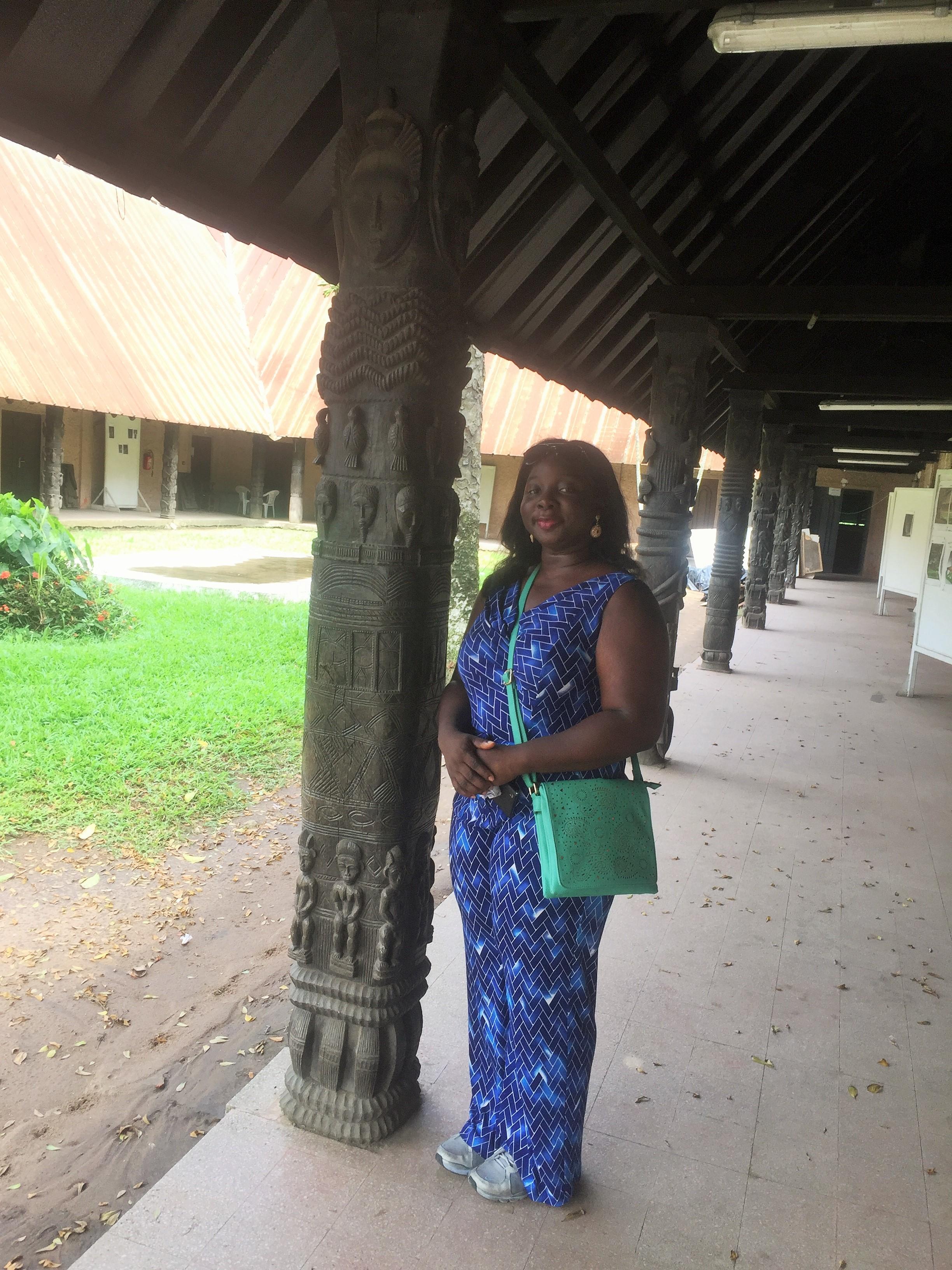 Musee des Civilisations de Cote d'Ivoire.