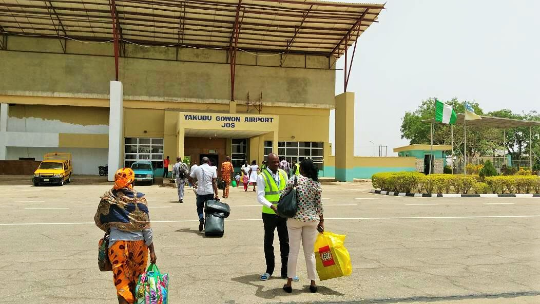 The terrible airport at Jos