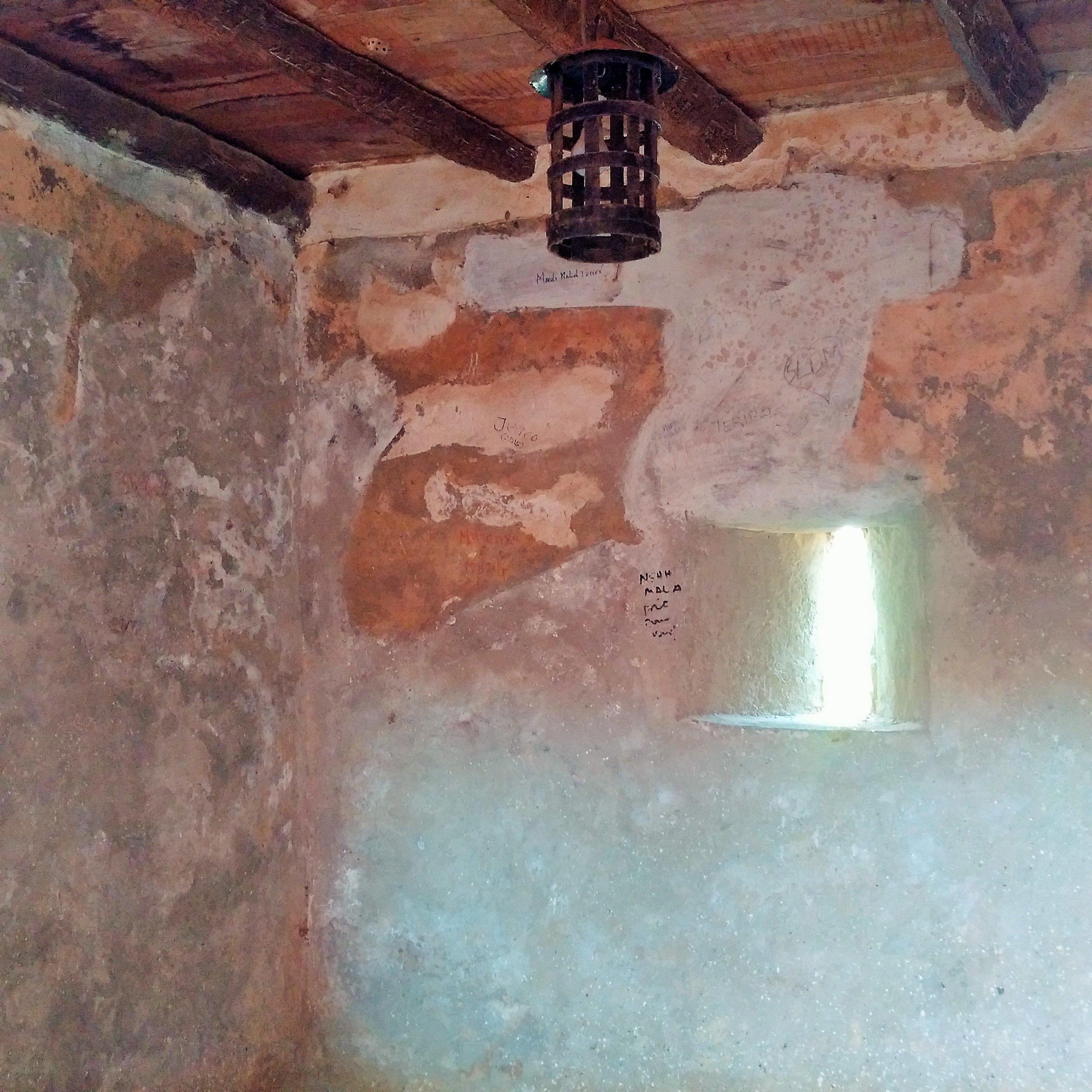 Slave dungeons at Goree Island
