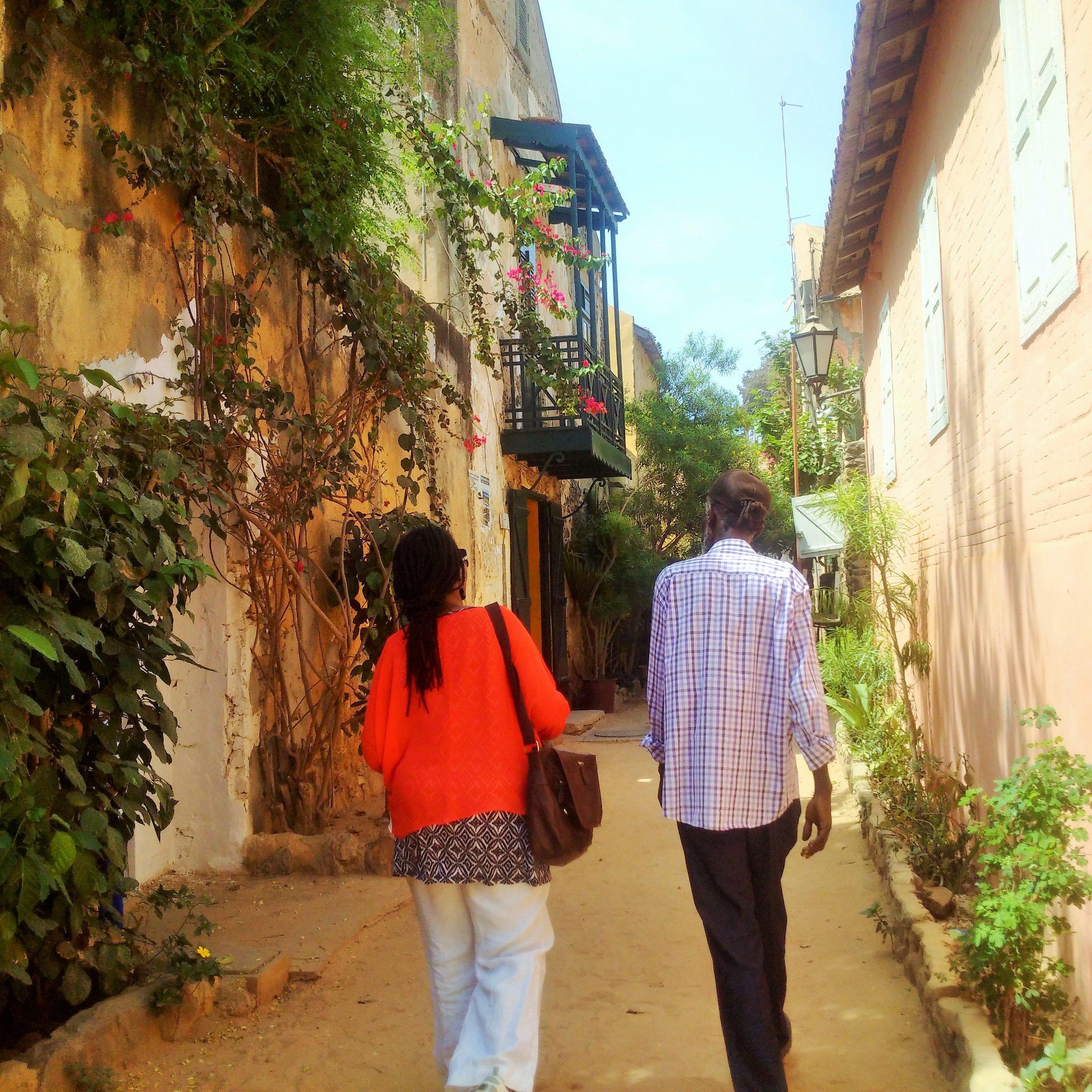 Walking the neigbourhood