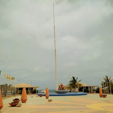 The Place du Souvenir, Dakar