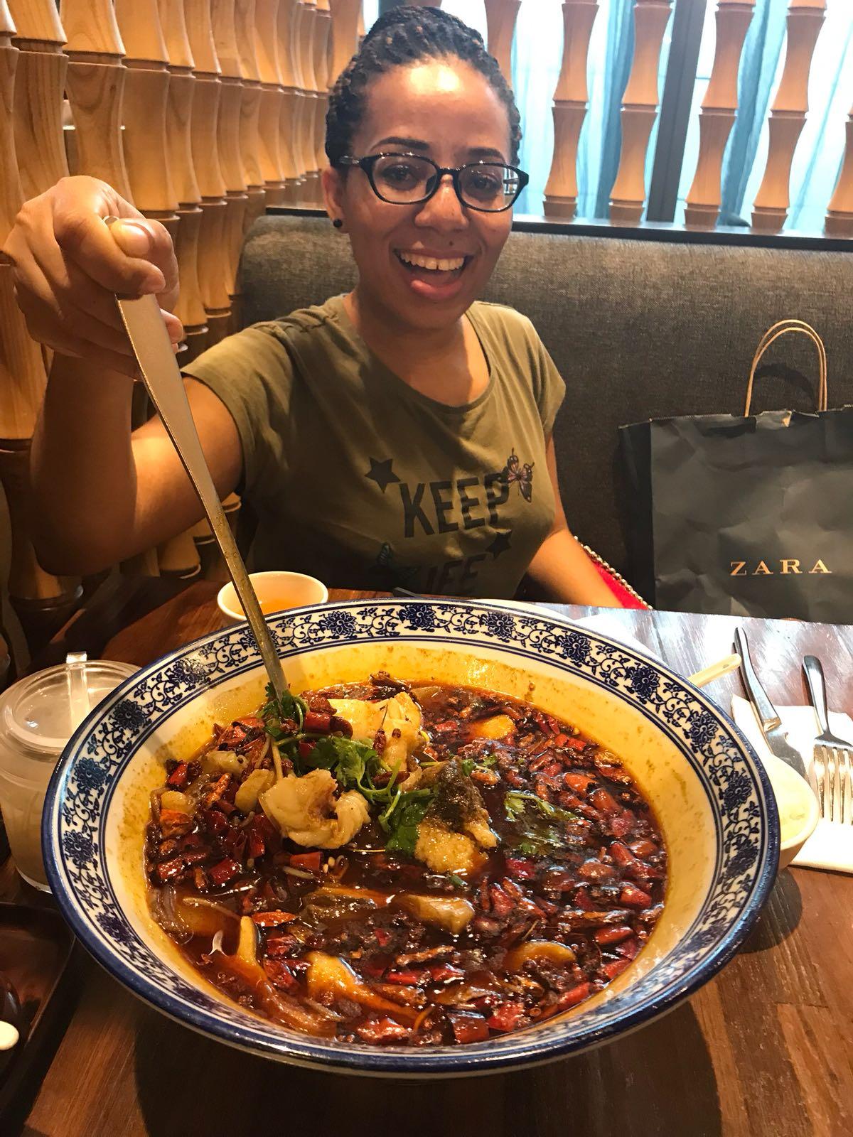 Exploring food at Taipei