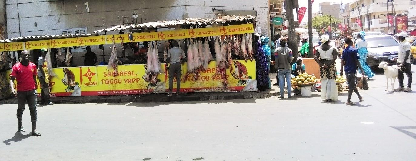 Butcher at Dakar