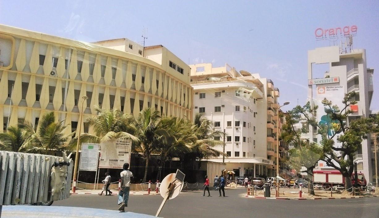 Centre of Dakar