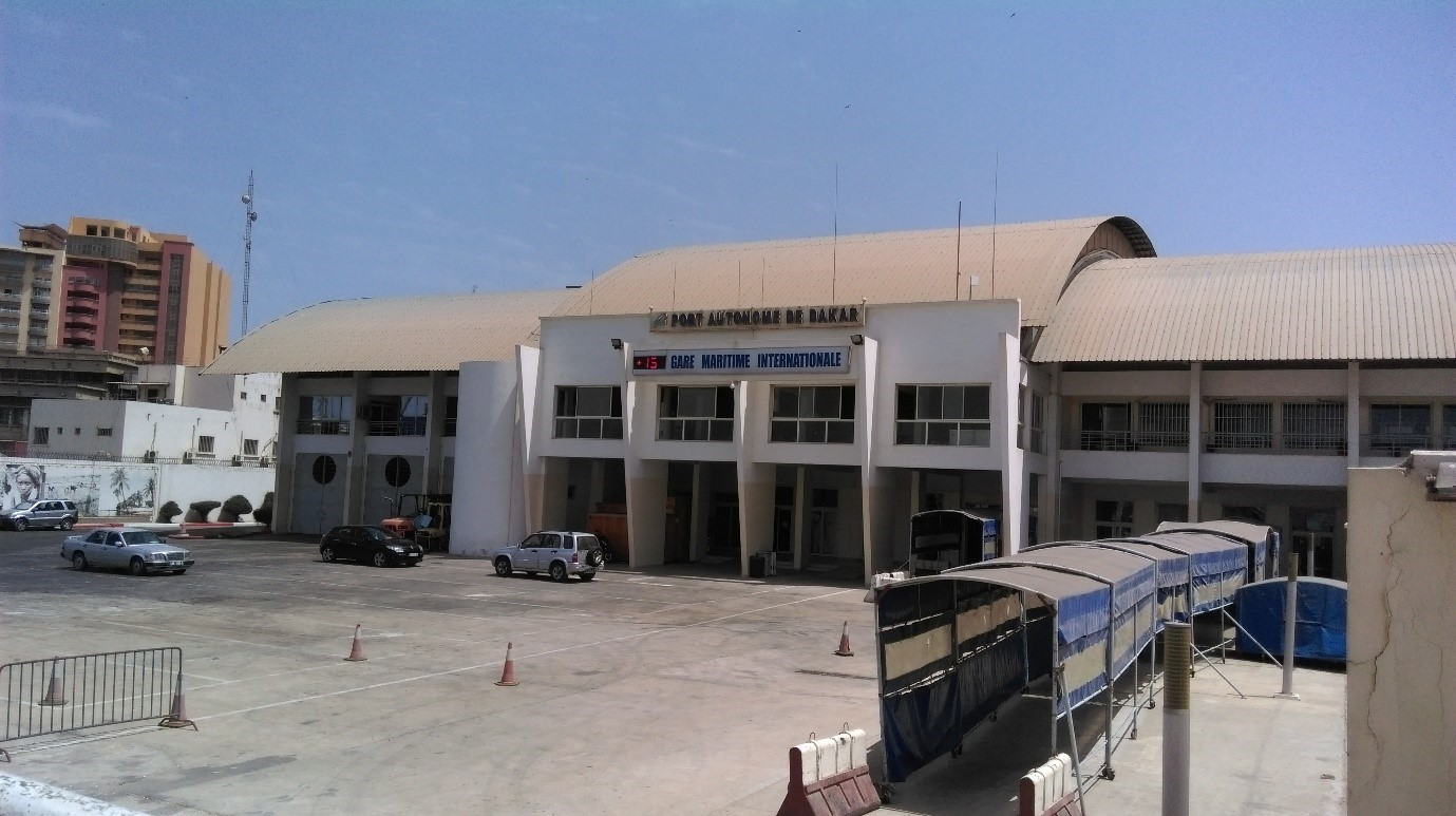Jetty at Dakar