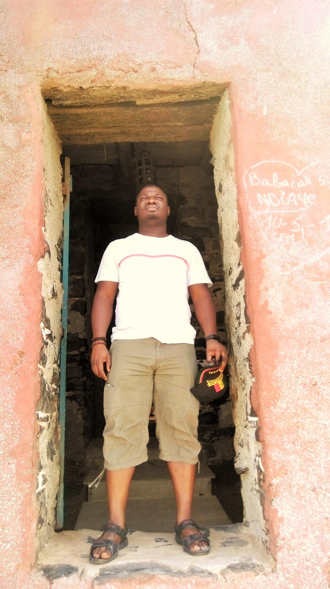 Door of no return at Goree Island slaving house
