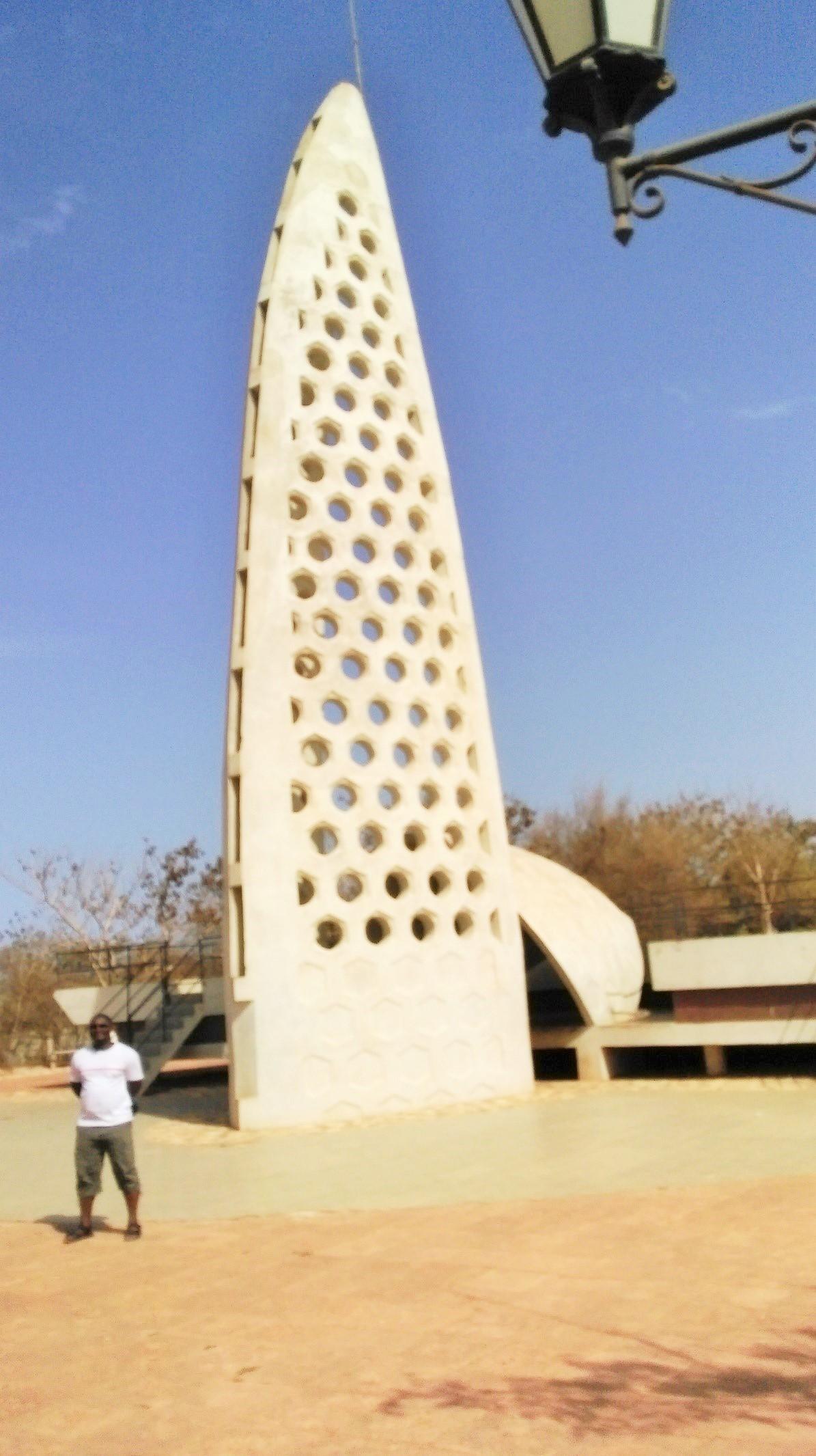 Slavery monument at Goree Island, Île de Gorée