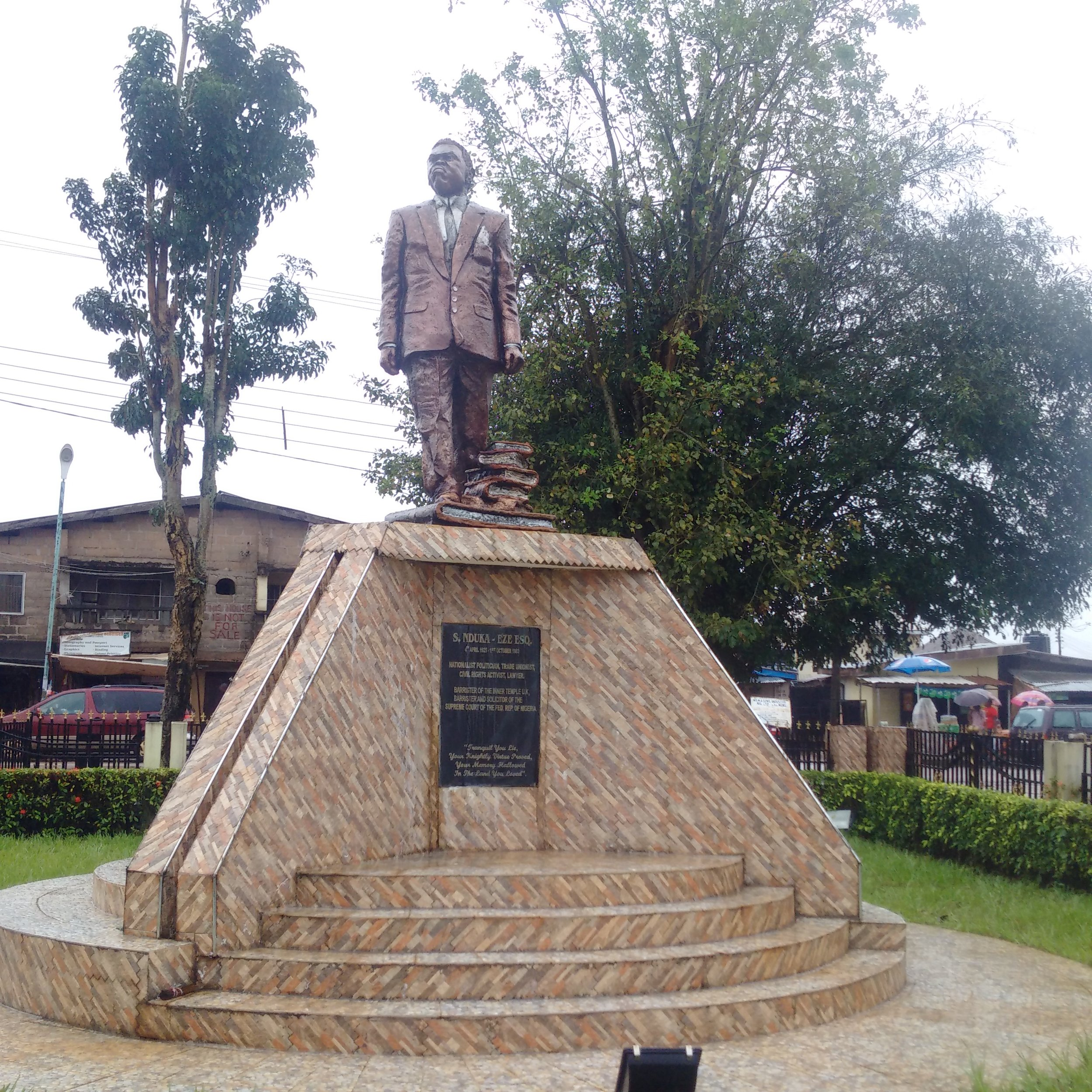 Monuments in Asaba