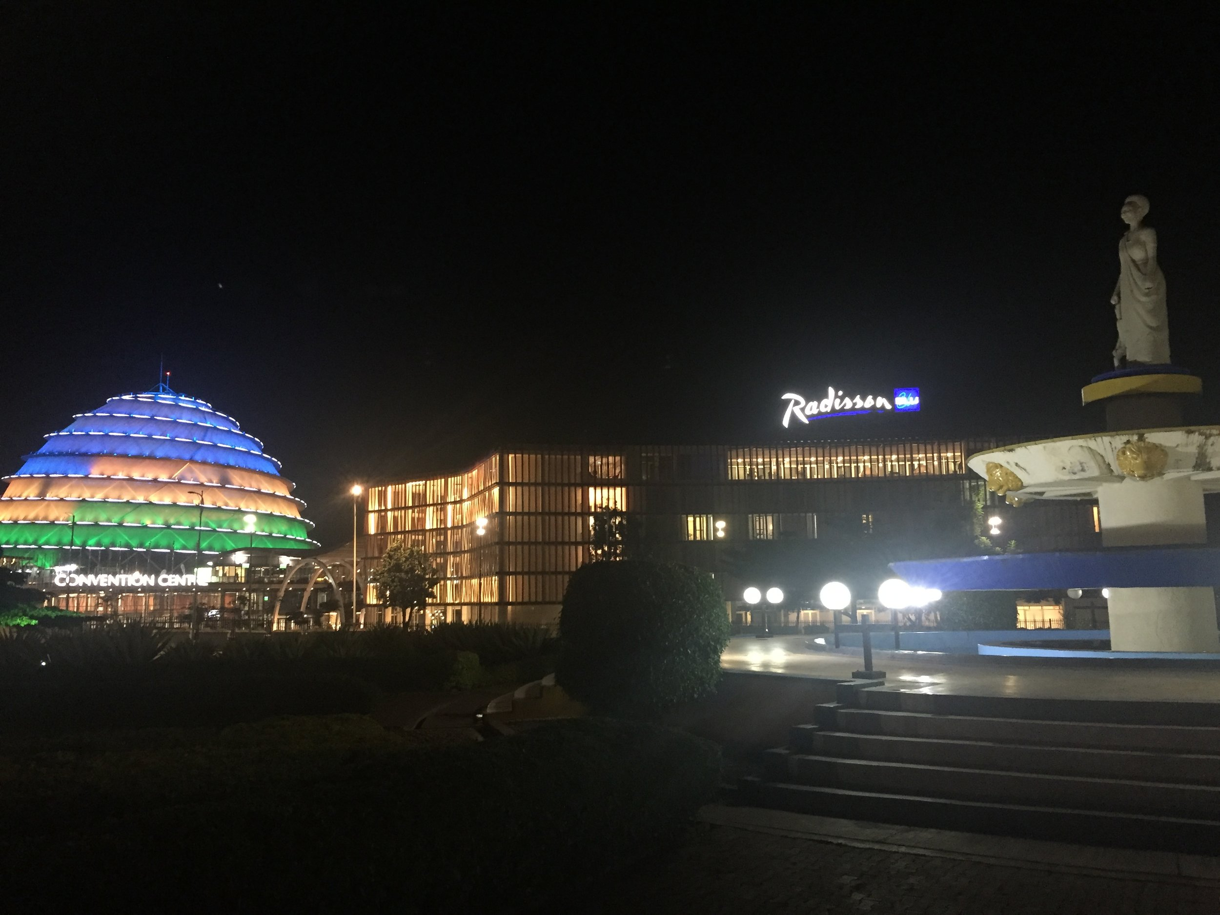 Kigali Convention Centre and Radisson Blue Hotel | The Ajala Bug