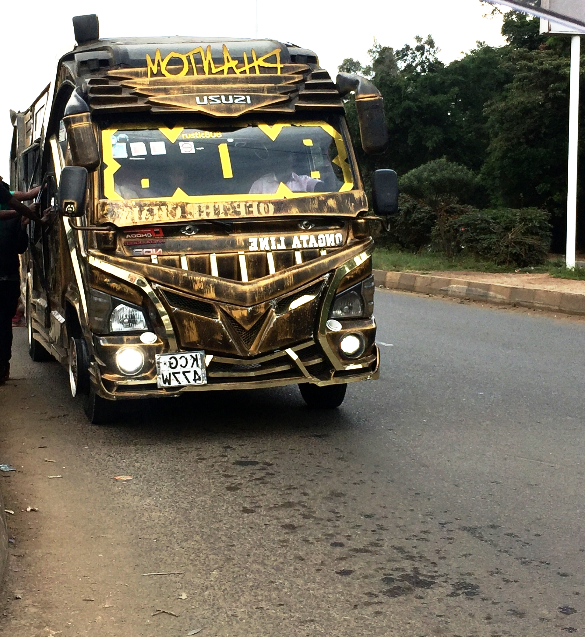 Matatu ride | The Ajala Bug