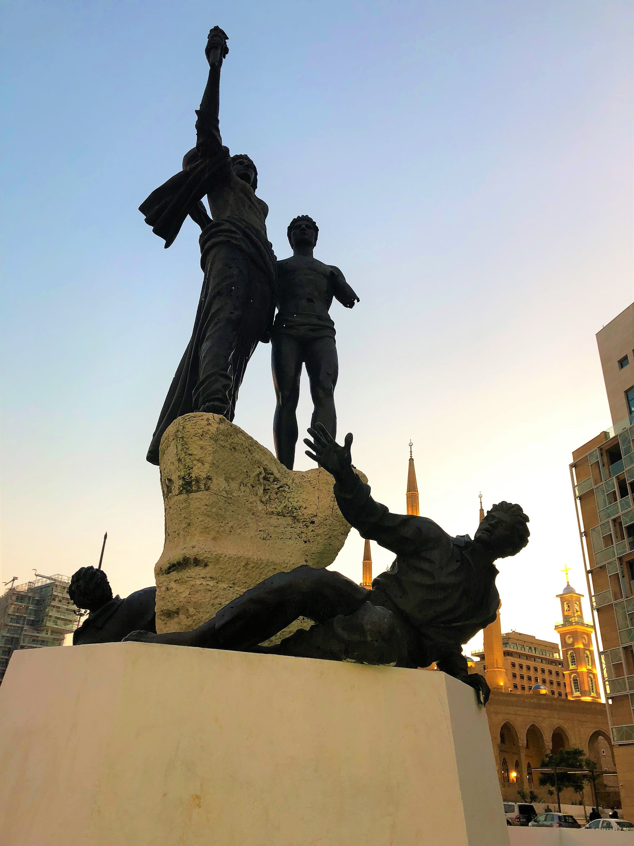 Martyr square Monument