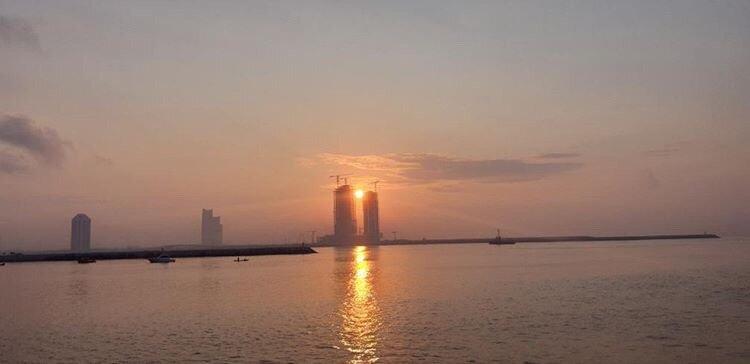 Sunrise over Takwa Bay
