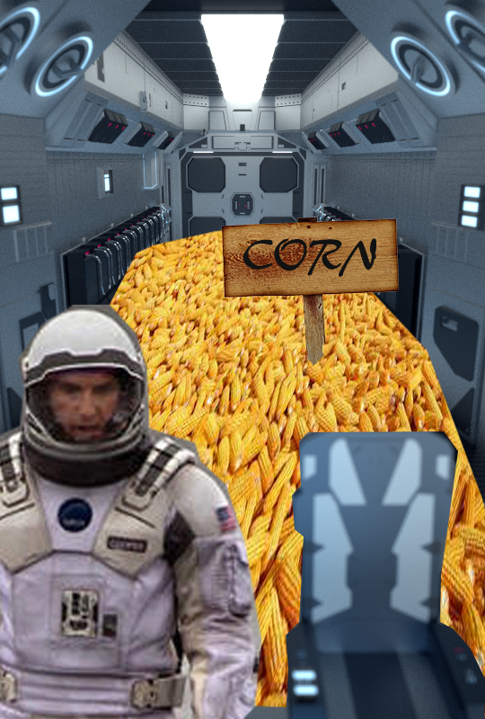 - In this episode of SPOILERS' DIGEST- Joe guesses what happens in the space traveling Matthew McConaughey and Christopher Nolan mash-up, Interstellar. He's found a new appreciation for corn.
